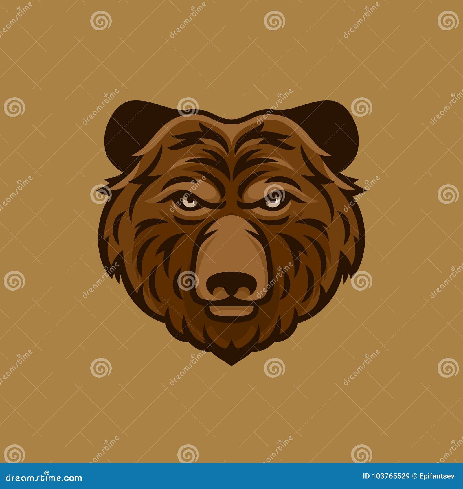 картинка голова медведя за кустом признаюсь, декоративной косметикой