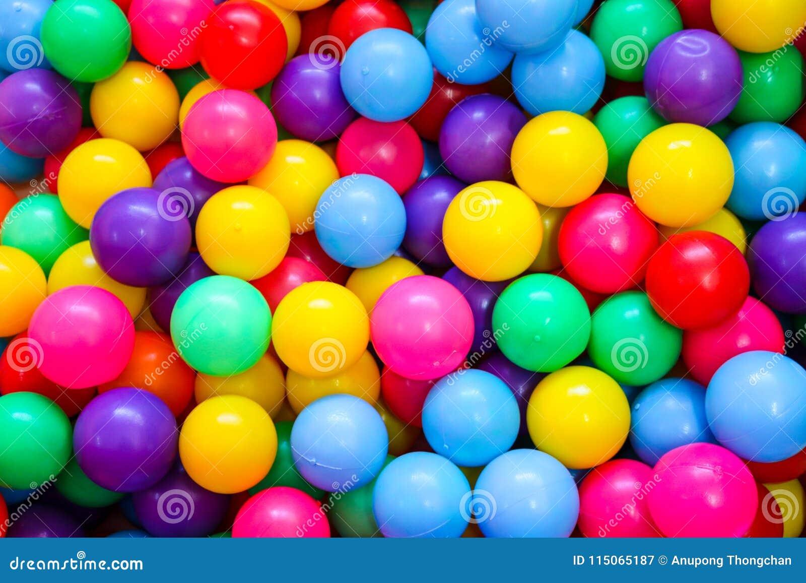 Красочные шарики для детей, который нужно сыграть