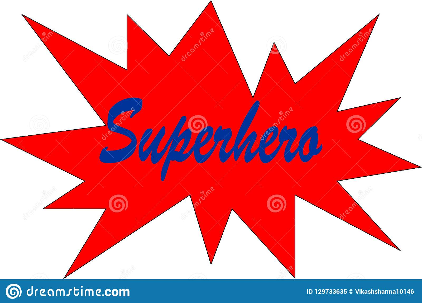Красочный конспект для того чтобы поддержать ваши работу и супергероя мечты