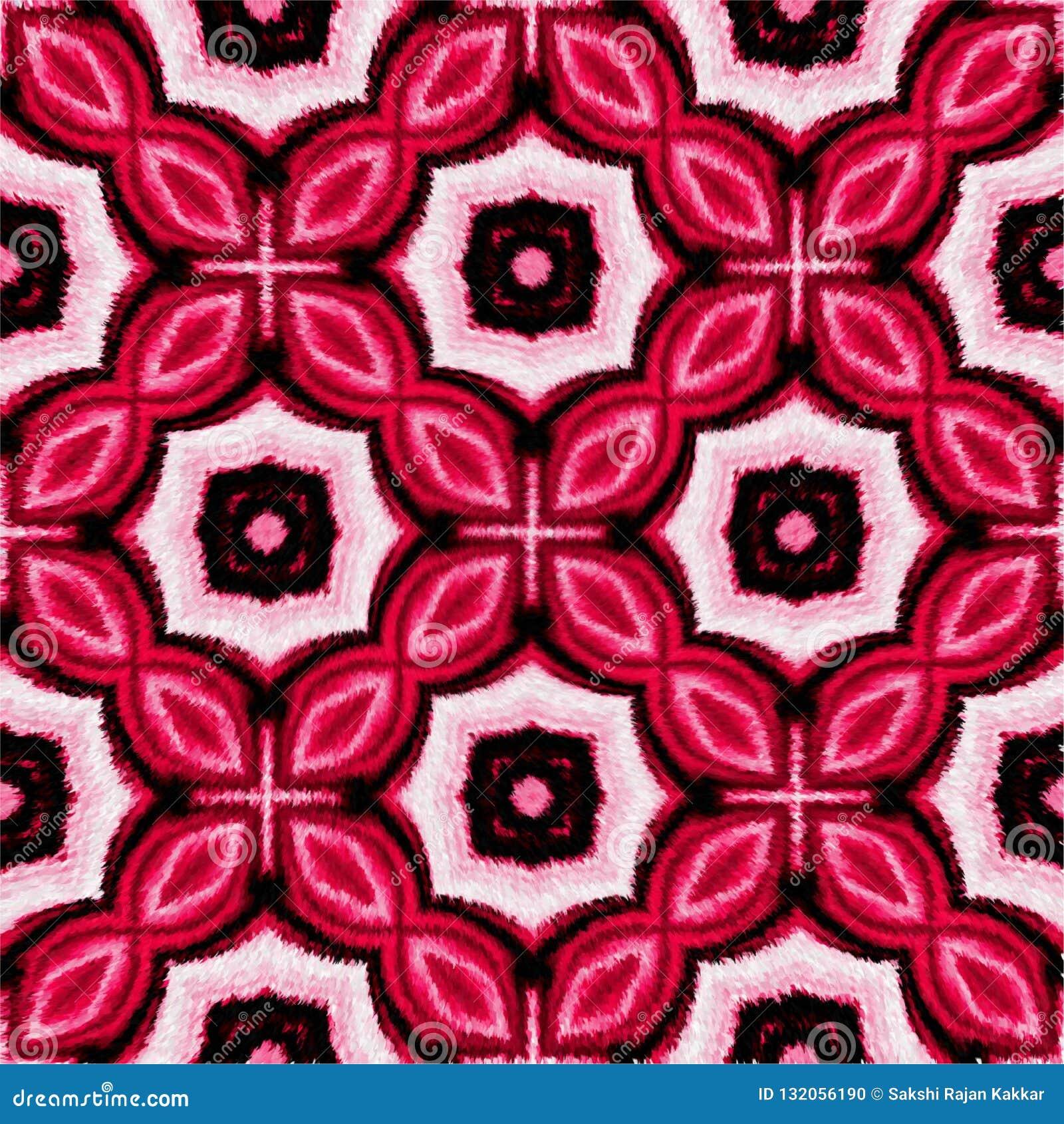 Красочный меховой и освещенный компьютер одеяла произвел дизайн изображения иллюстрации