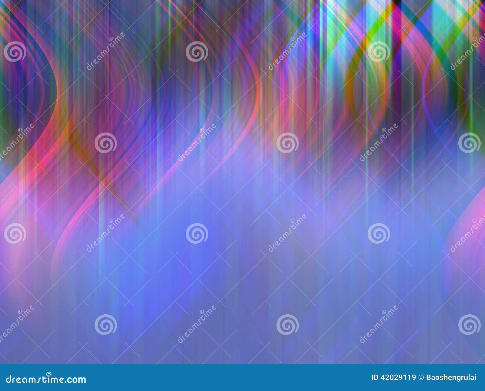 Красочный светлый танец