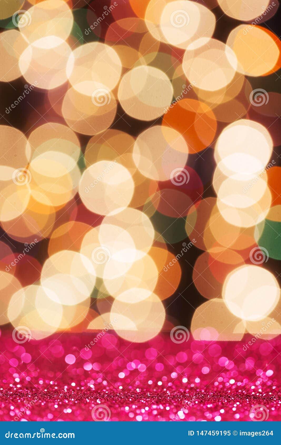 Красочный свет яркого блеска