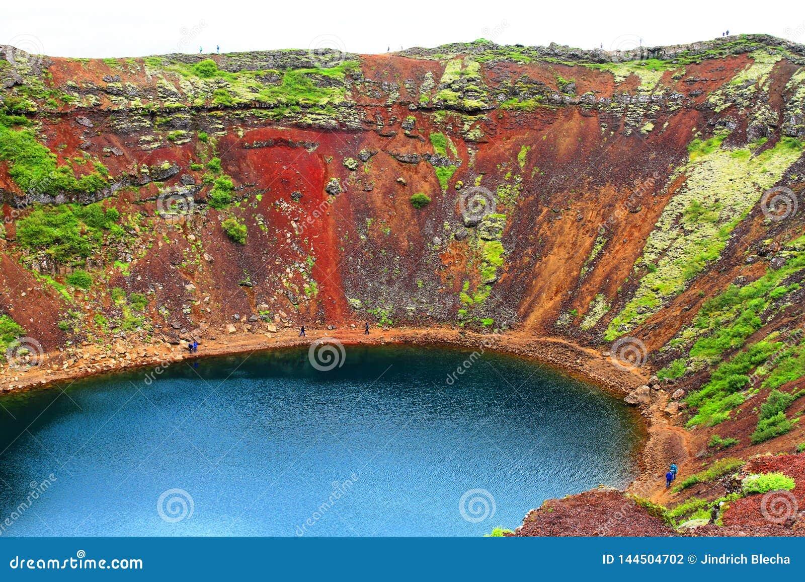Кратер вулкана Kerid