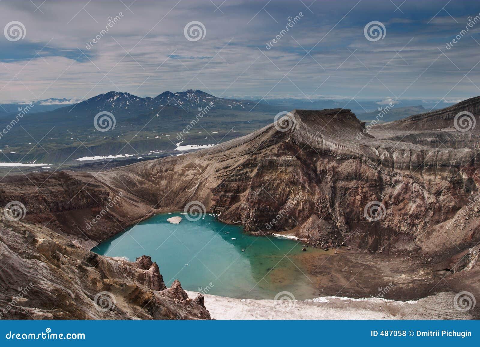 кратер вулканический