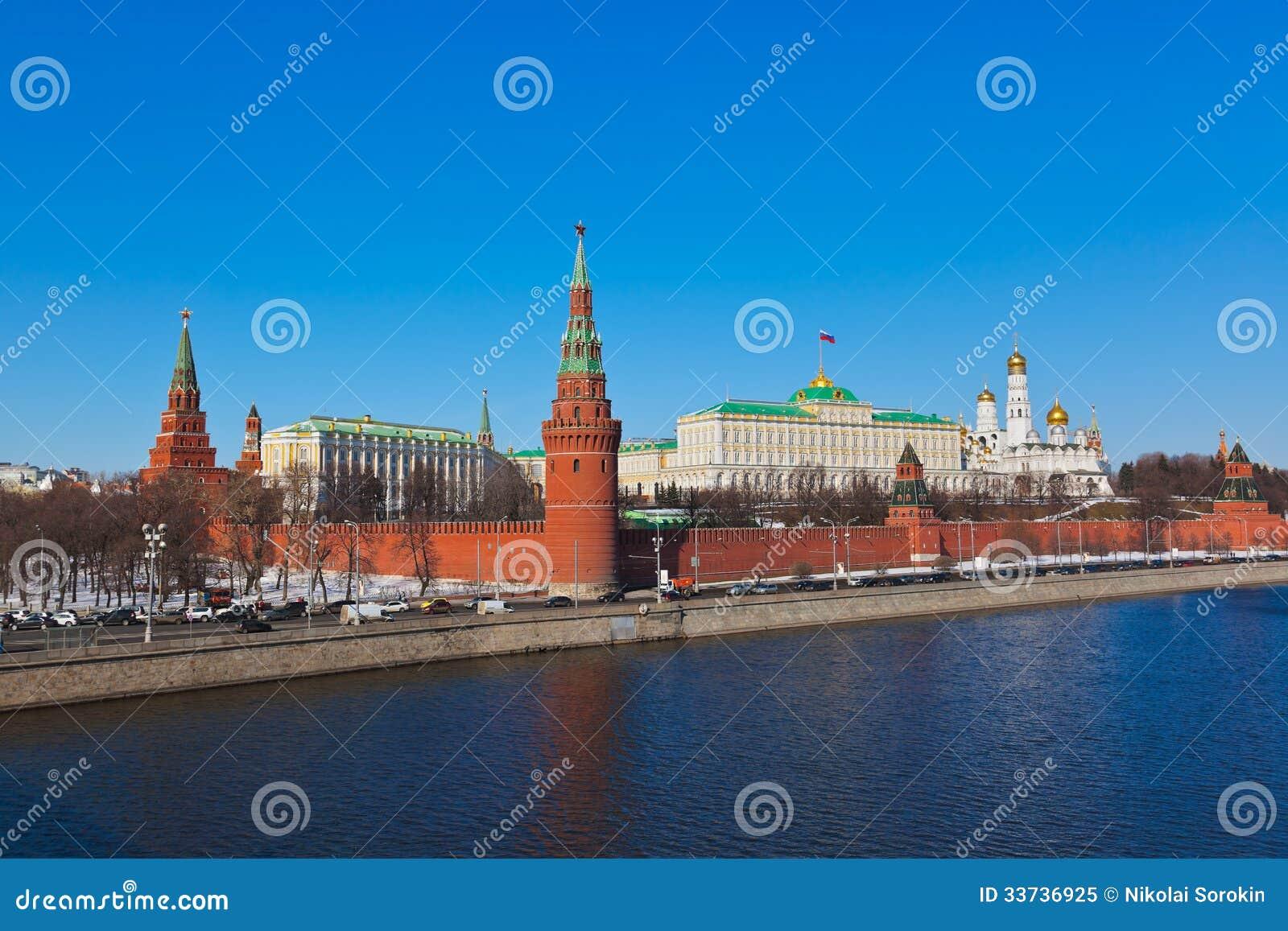 Кремль в Москве (Россия)