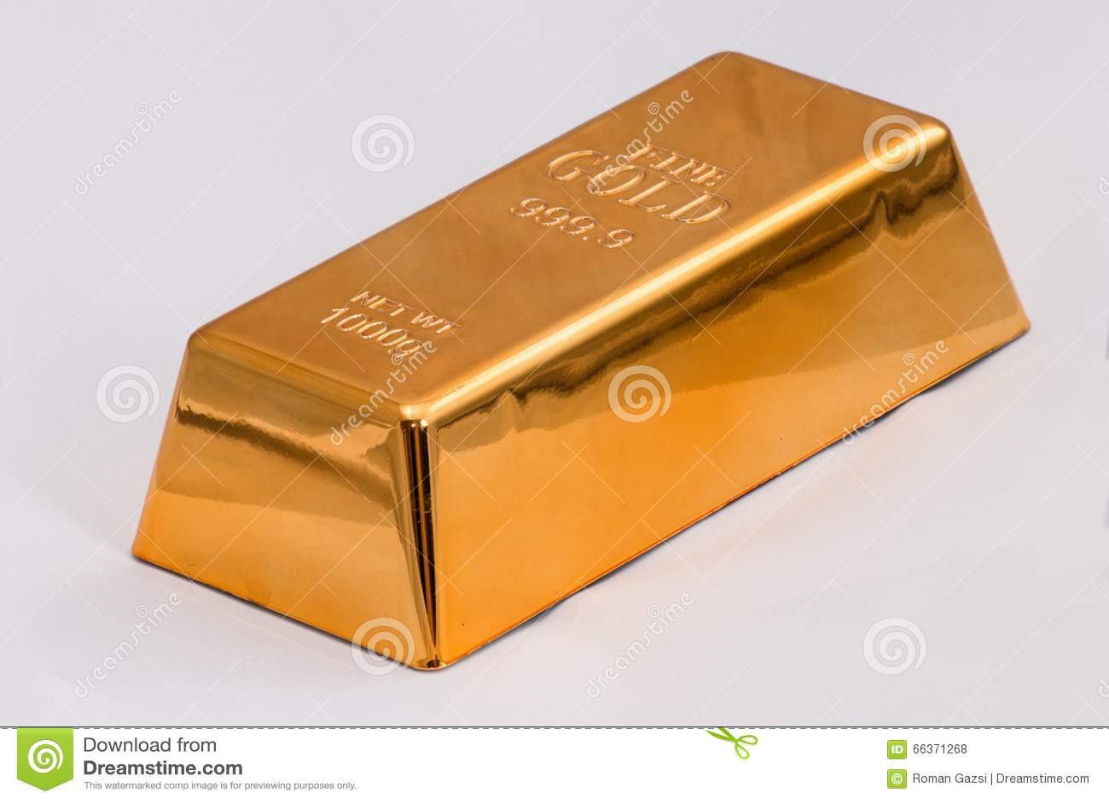 кренить золот в слитках золотистый слиток