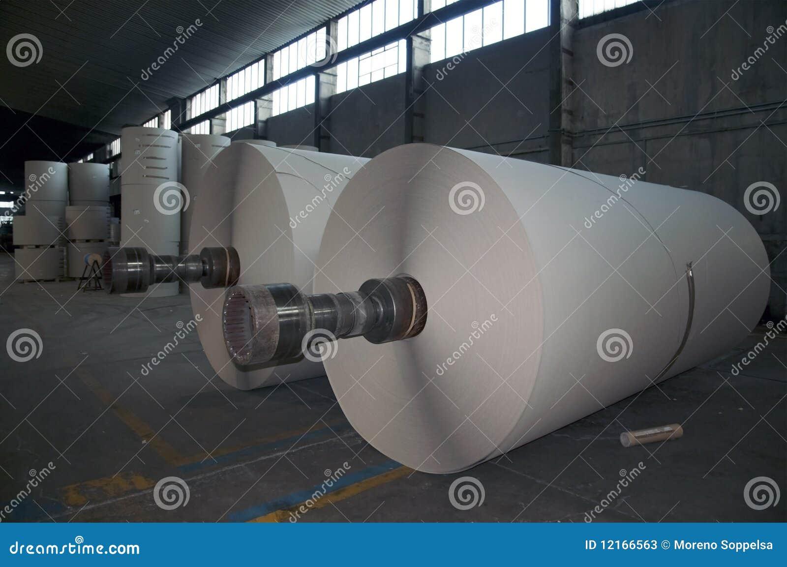 крены пульпы завода бумаги стана картона