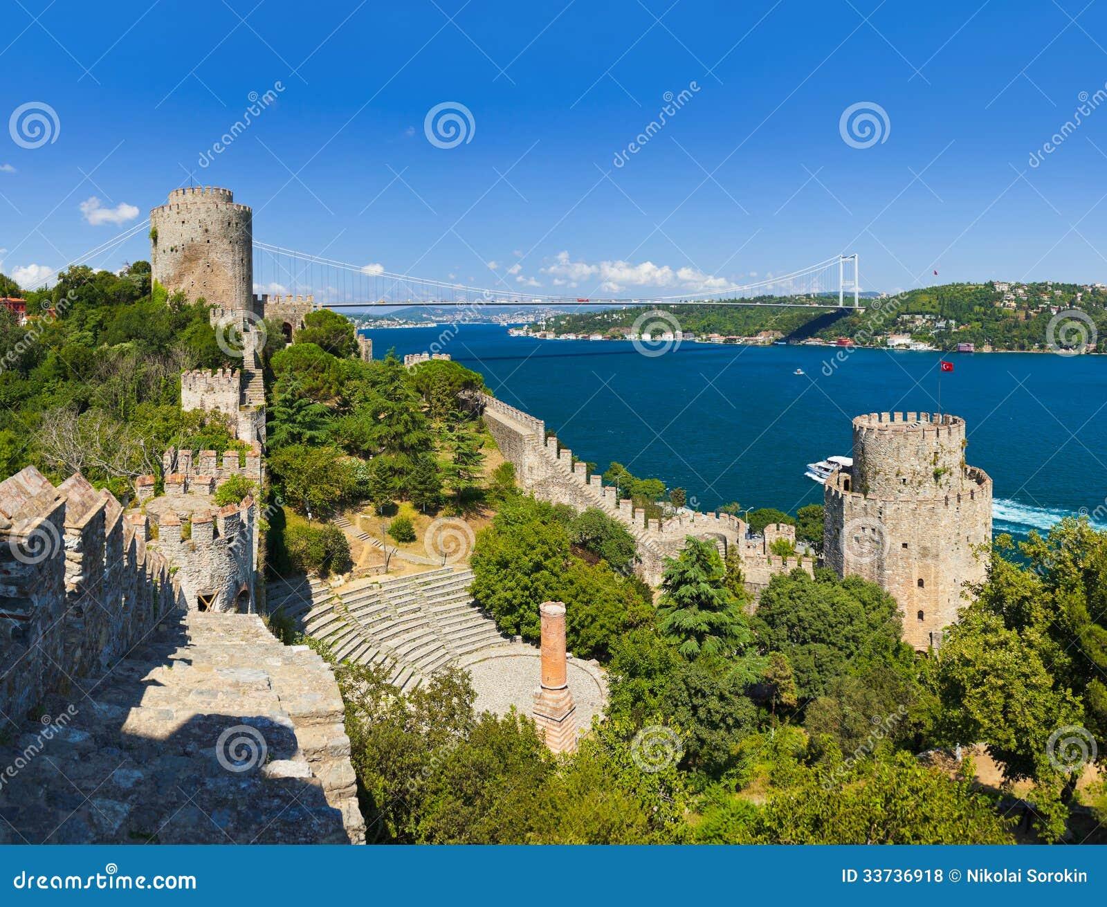 Крепость Rumeli на Стамбуле Турции