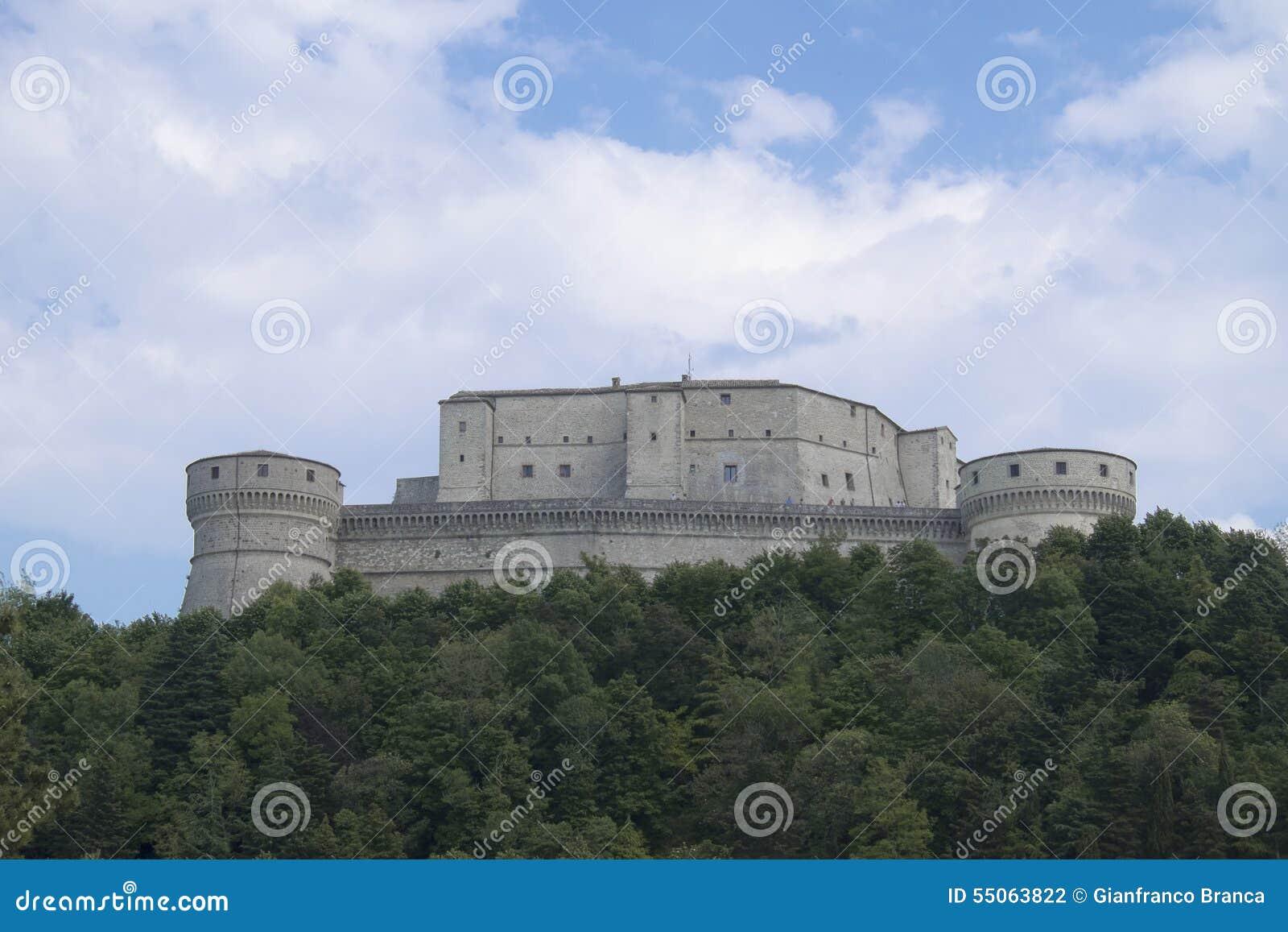 Крепость San Leo