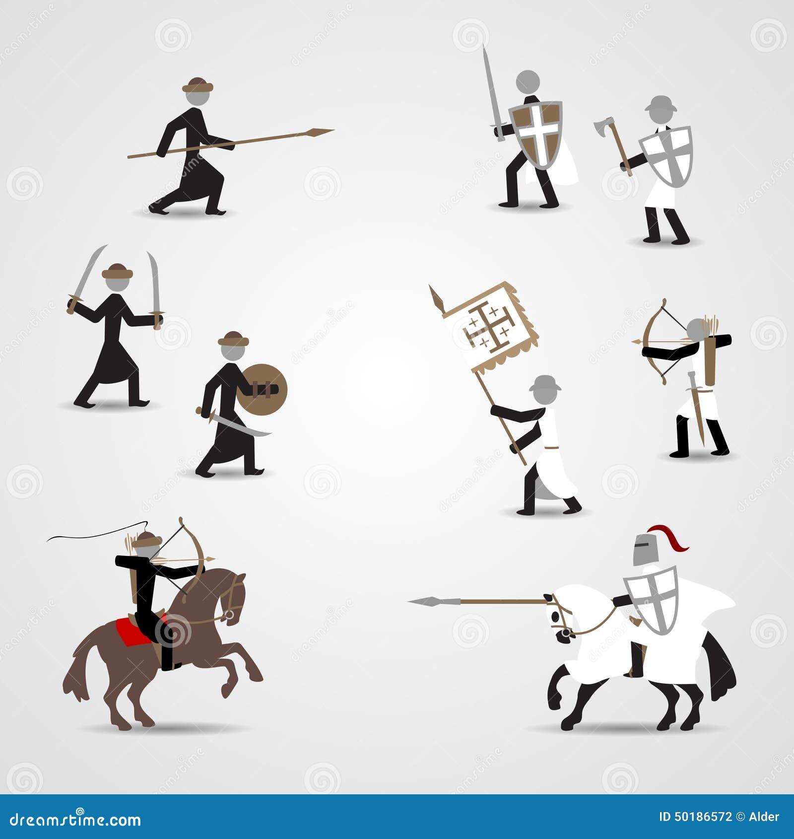 Крестоносцы и saracens