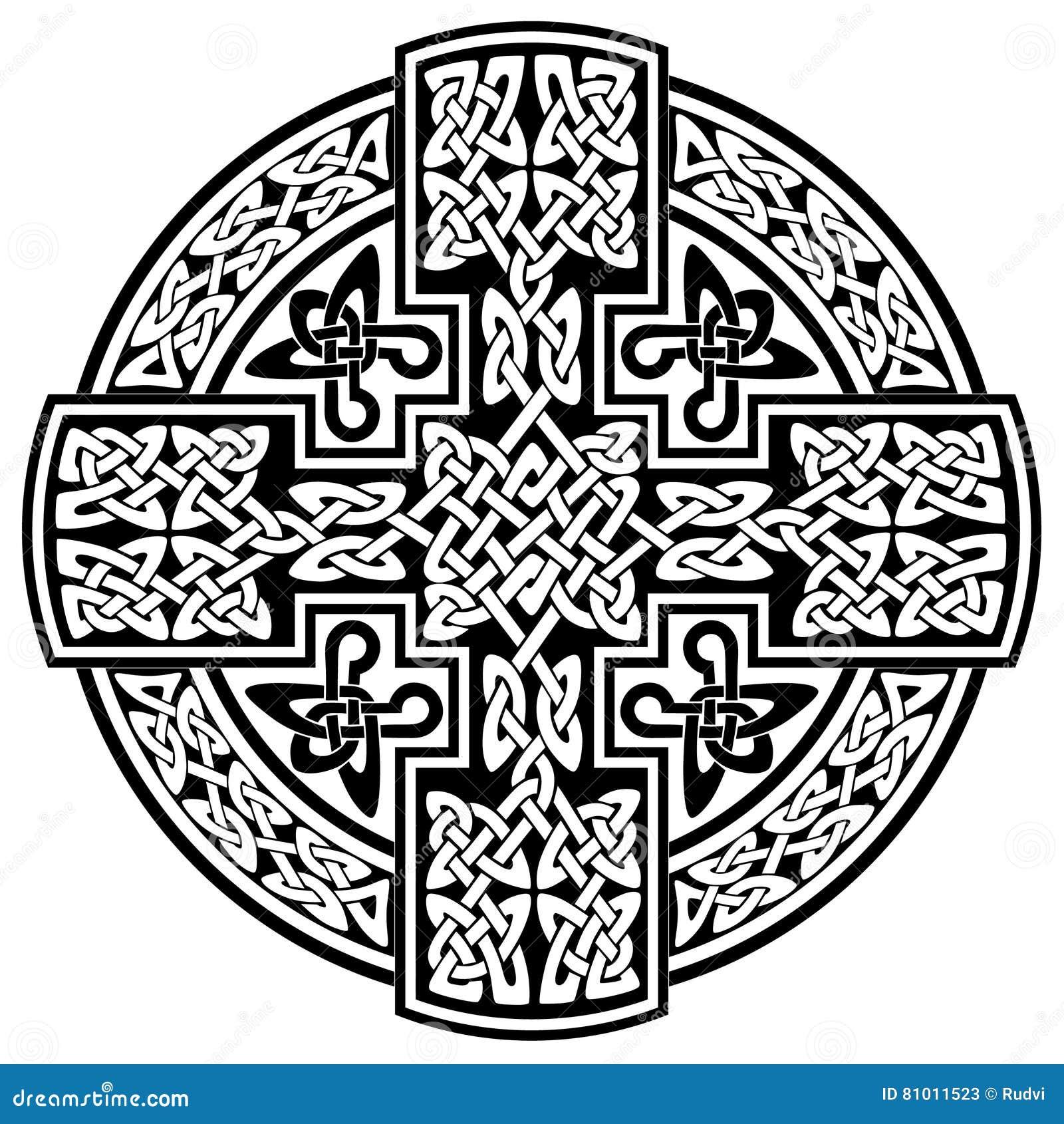 крест вектора кельтский иллюстрация вектора иллюстрации