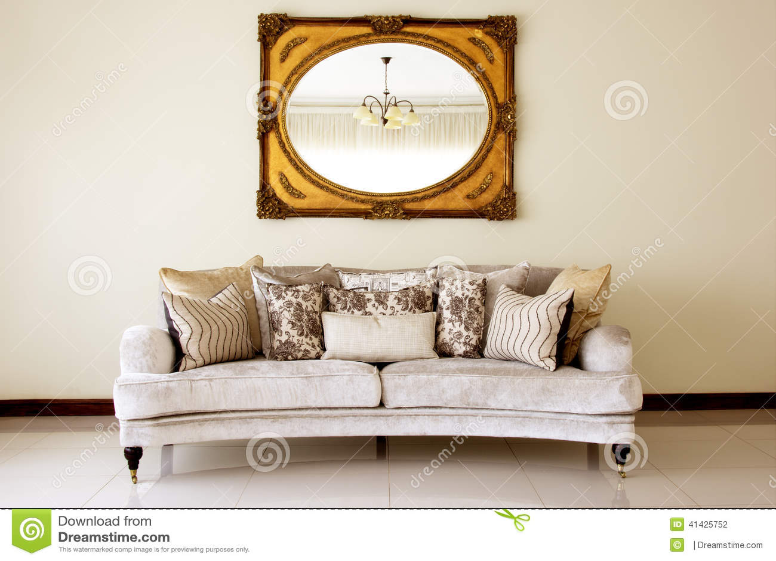 Кресло с зеркалом