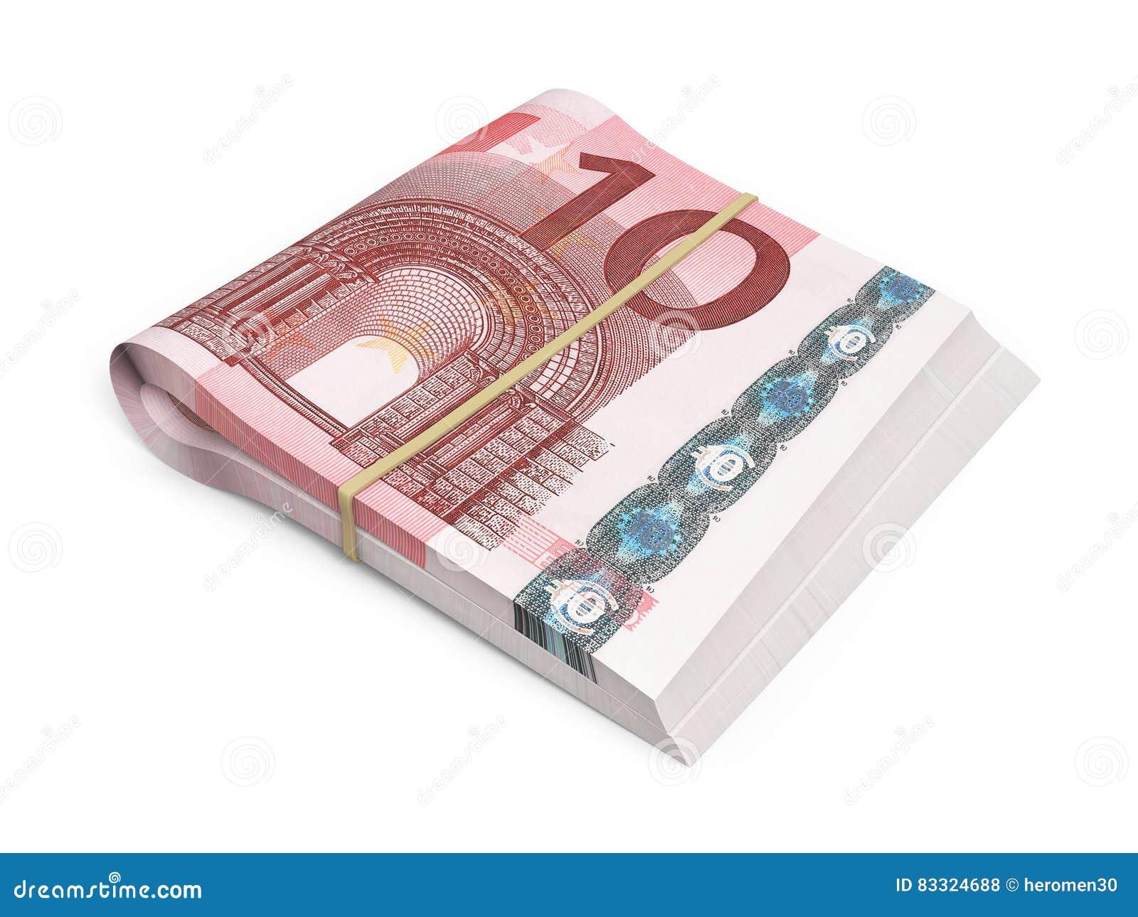 Кредитка евро 10