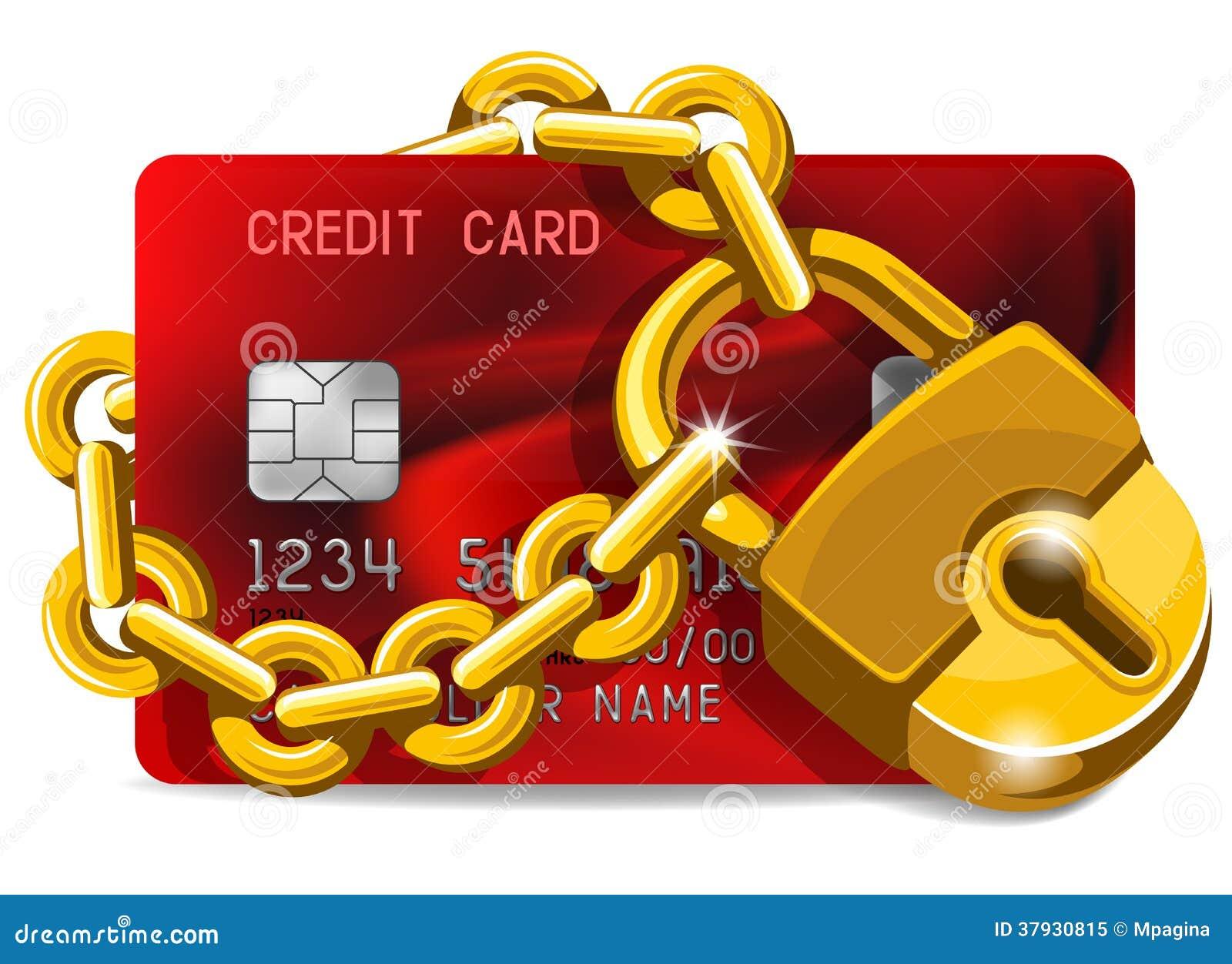 Кредитная карточка под защитой