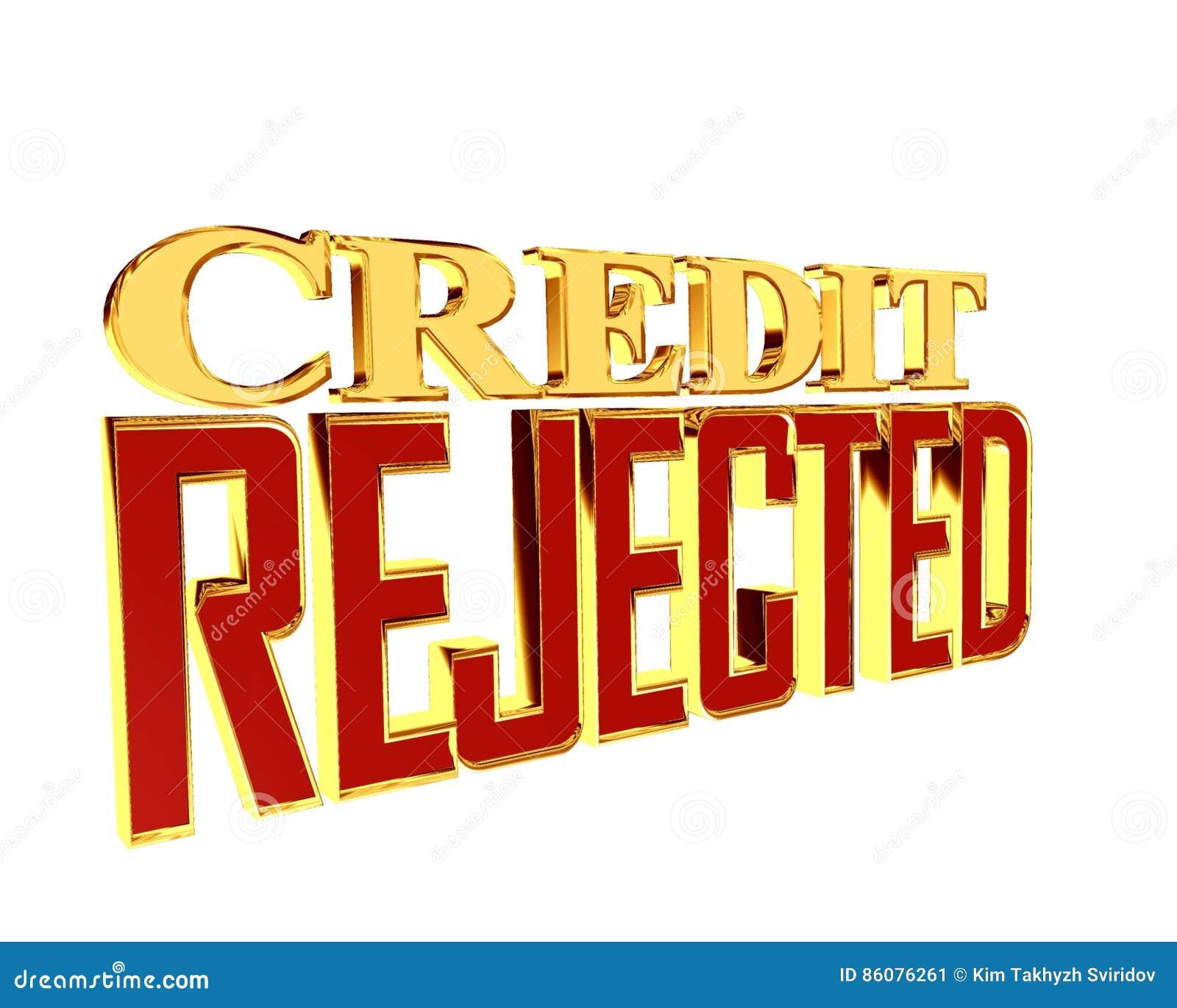 Кредит текста золота отвергнутый на белой предпосылке
