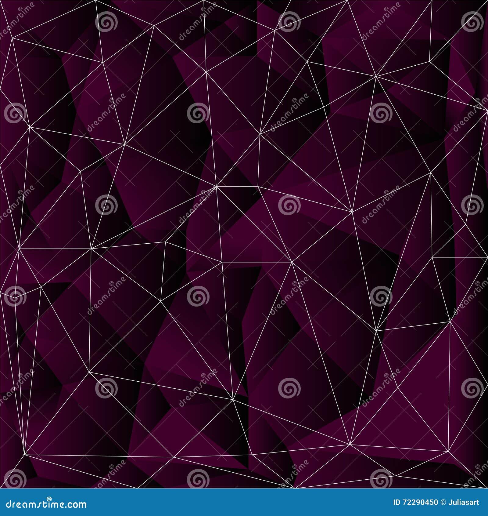 Download Кристл и каменная предпосылка Треугольник вектора, триангулирование Иллюстрация штока - иллюстрации насчитывающей стекло, цифрово: 72290450