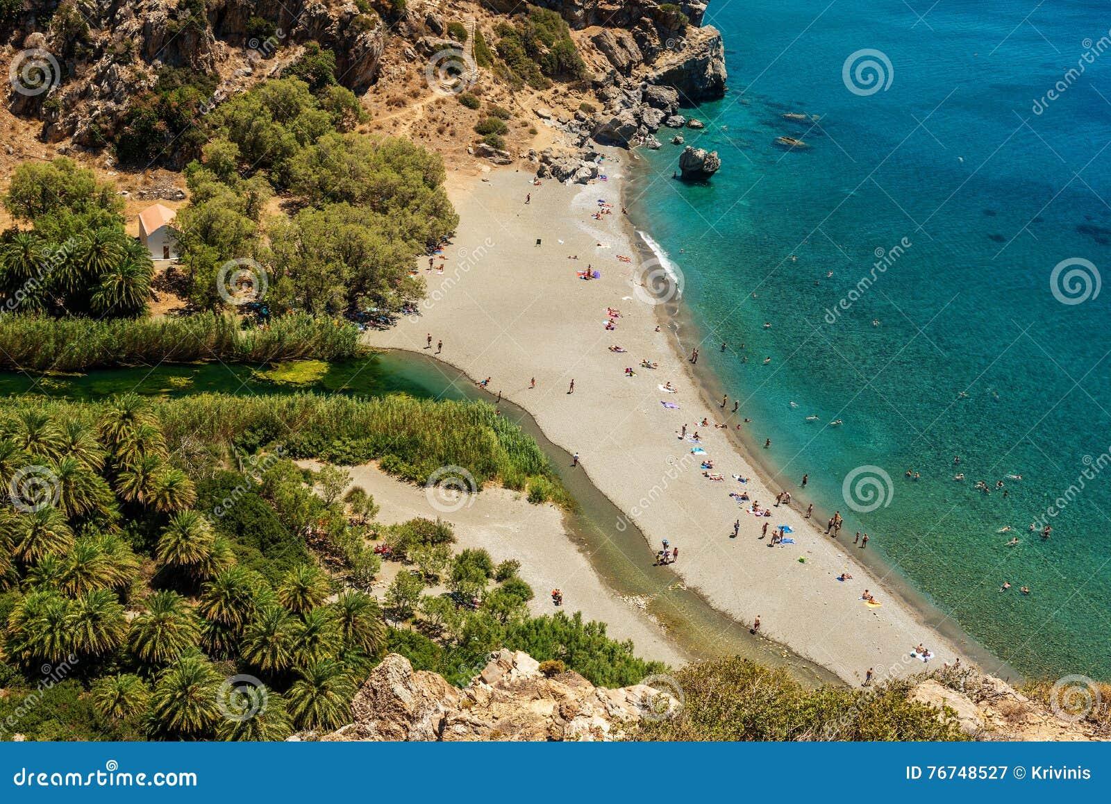 Крит, Греция: Залив ладони