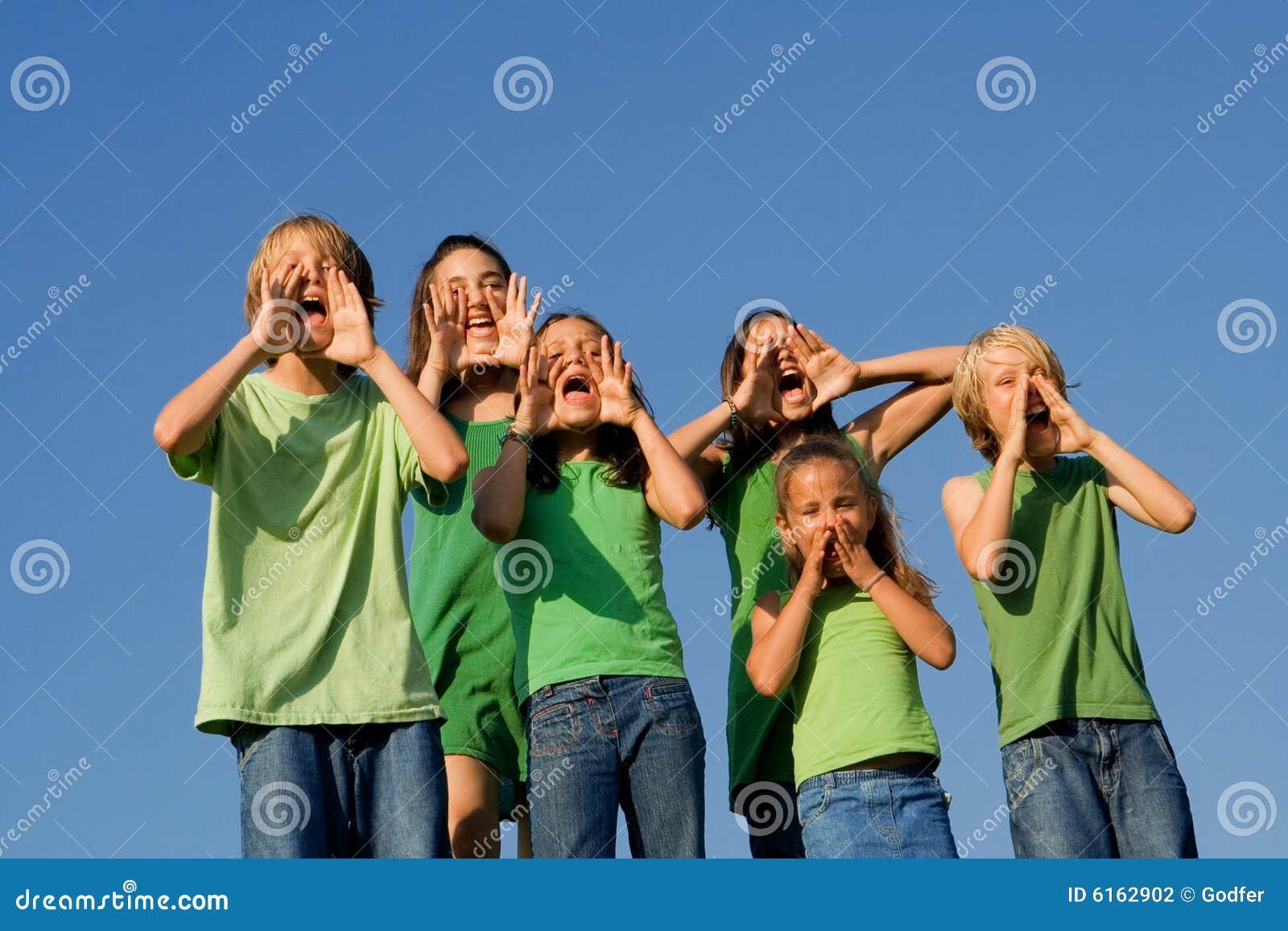 кричать малышей группы детей