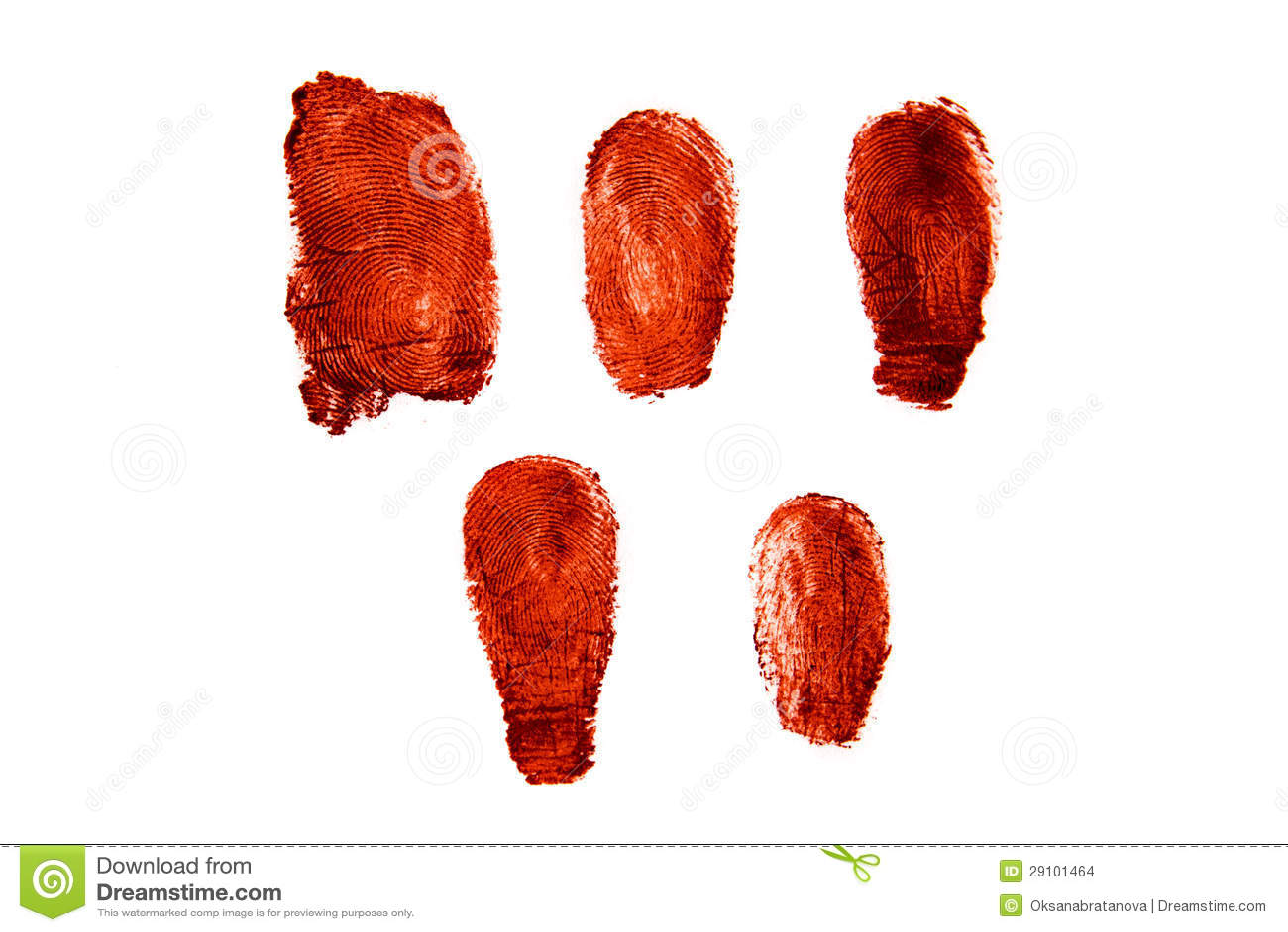 Кровопролитные фингерпринты