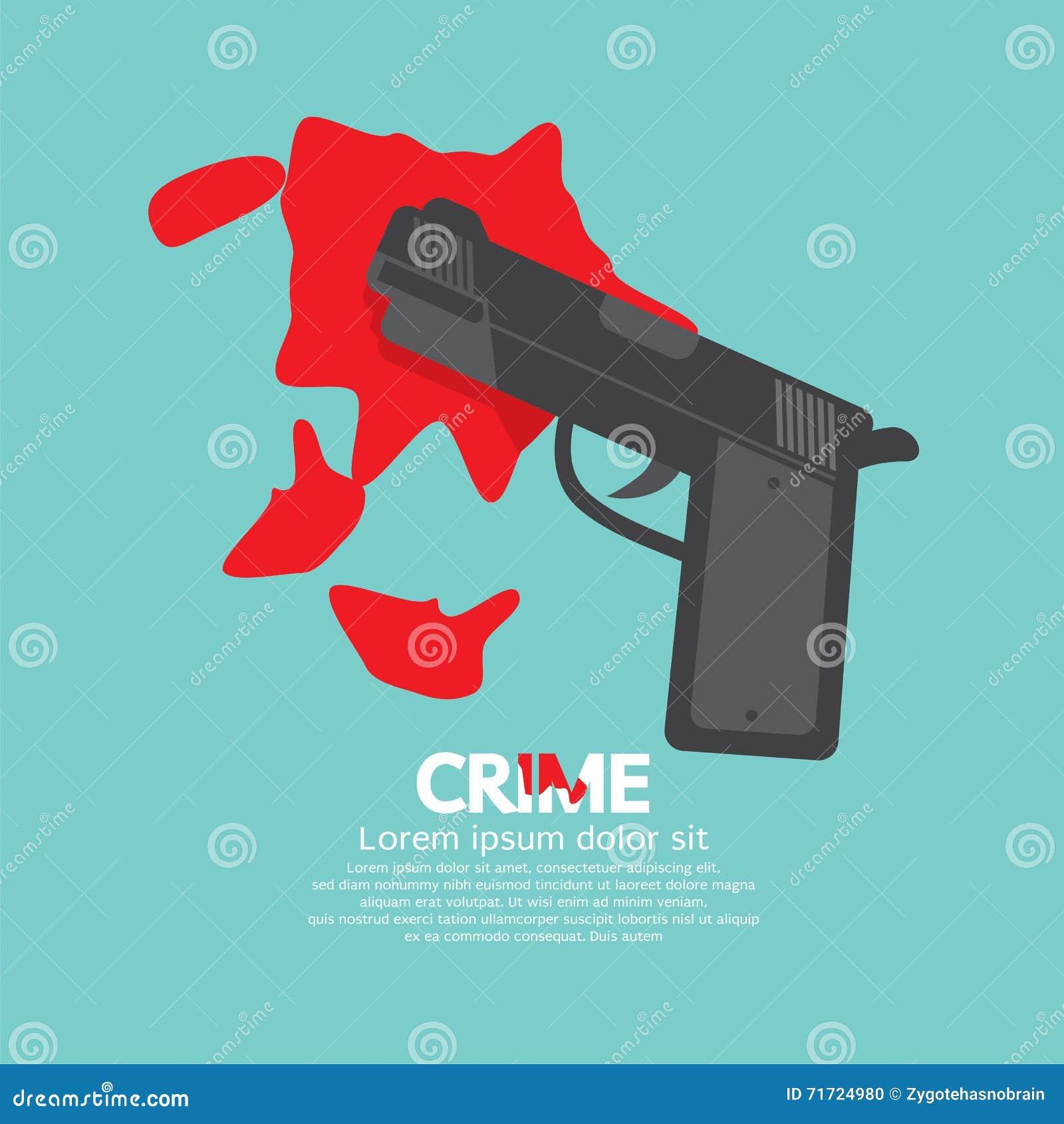 Кровопролитное оружие, уголовная концепция
