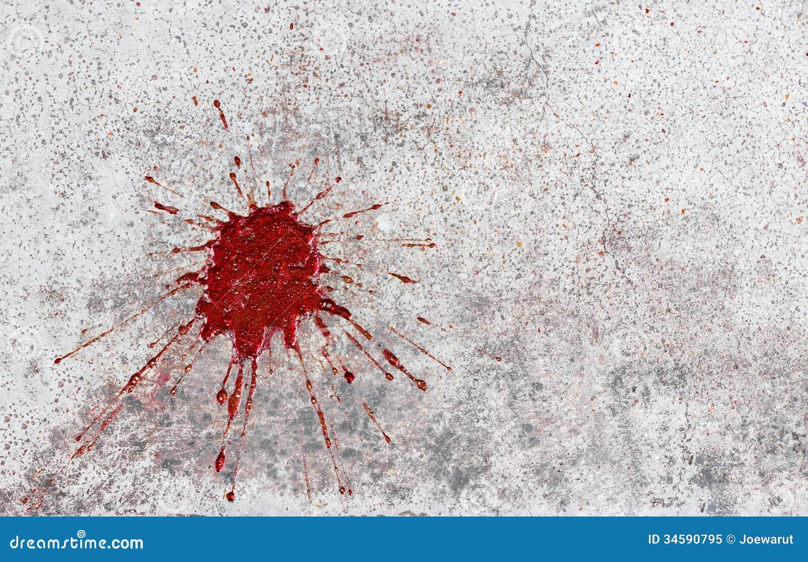 бетон кровью