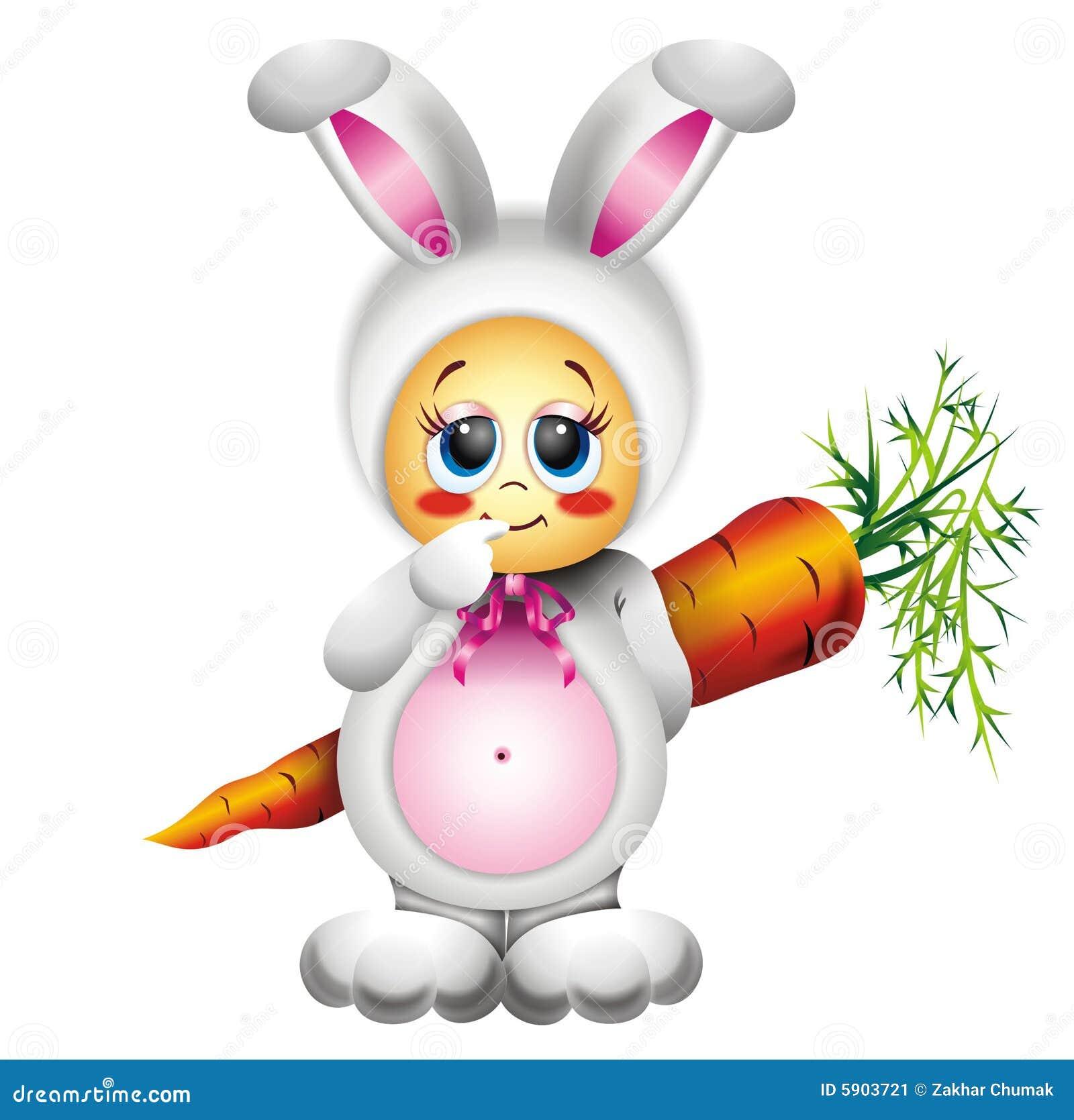 кролик costume младенца