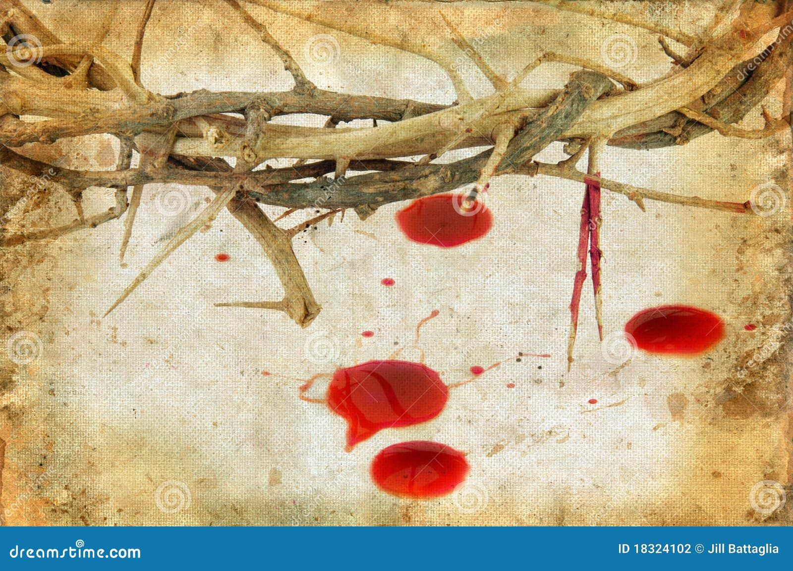крона крови падает тернии