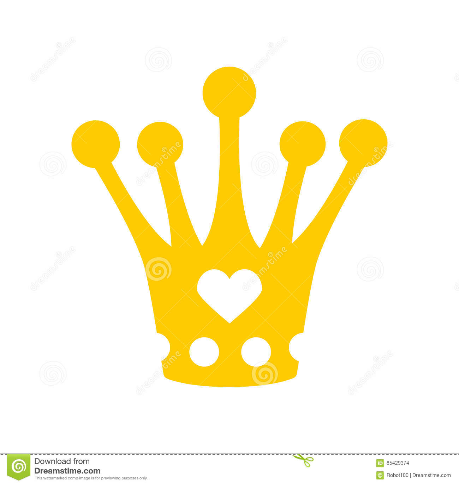 Крона для маленькой принцессы Королевская шляпа изолированный diadem