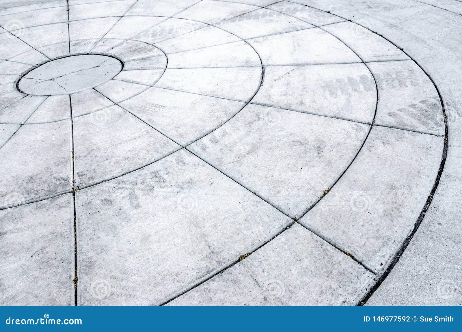 Круги в бетоне дружинин бетон
