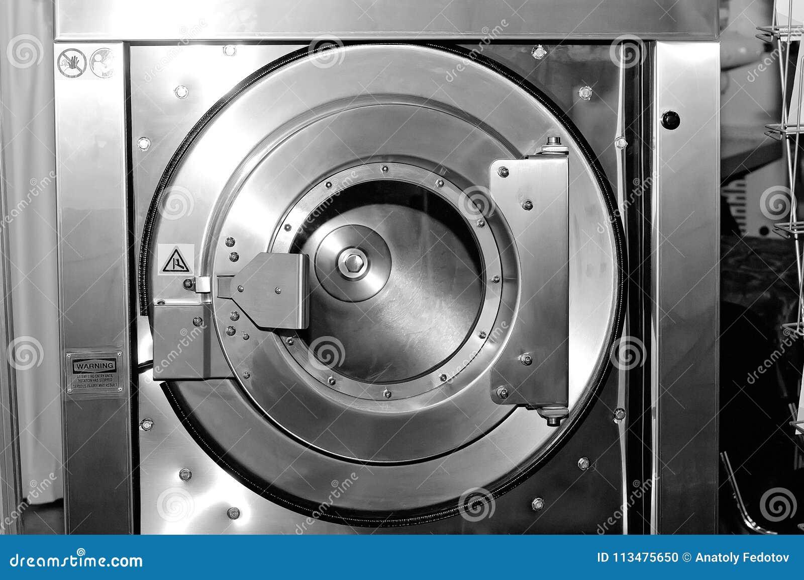 Круглый люк загрузки промышленной стиральной машины