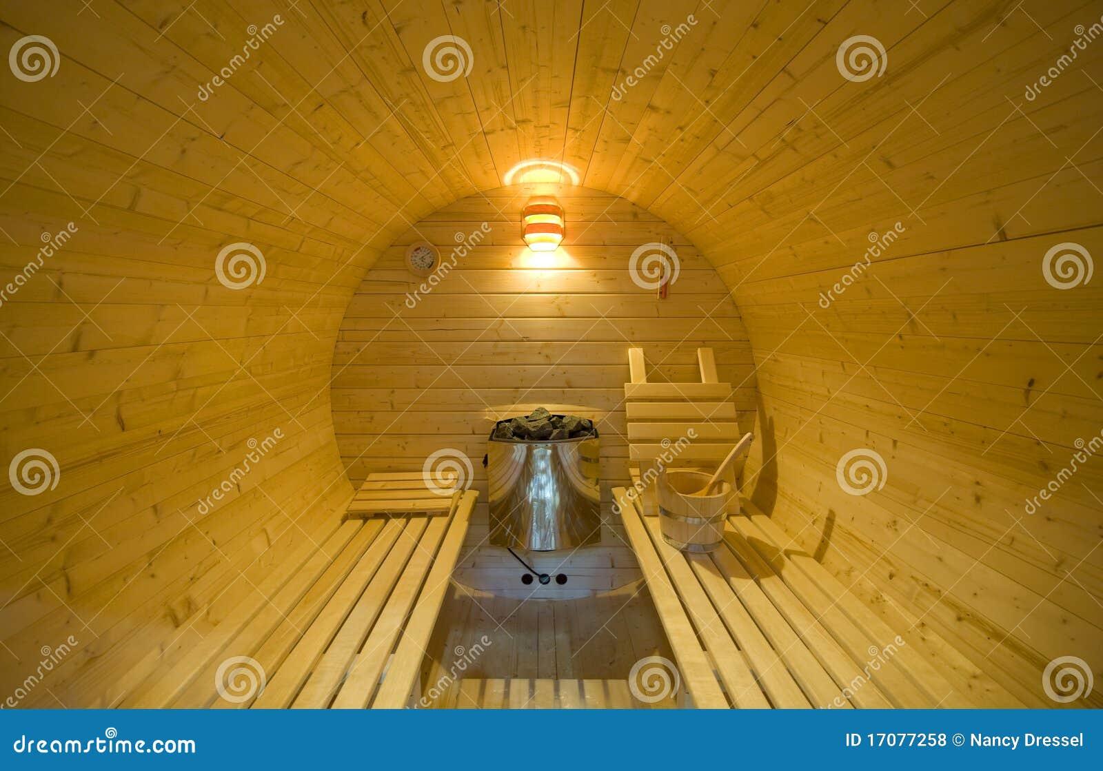 круглый sauna