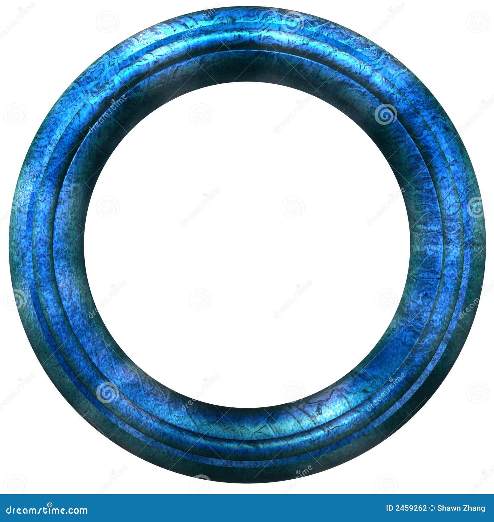 круговое изображение рамки