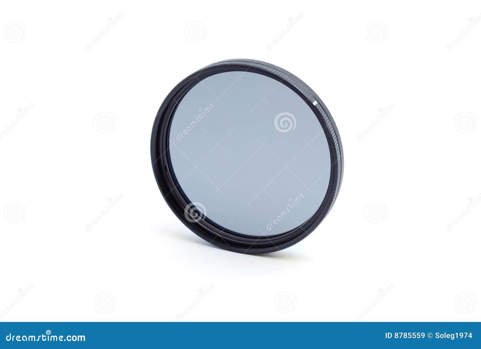 круговой фильтр поляризовывая профессиональную белизну