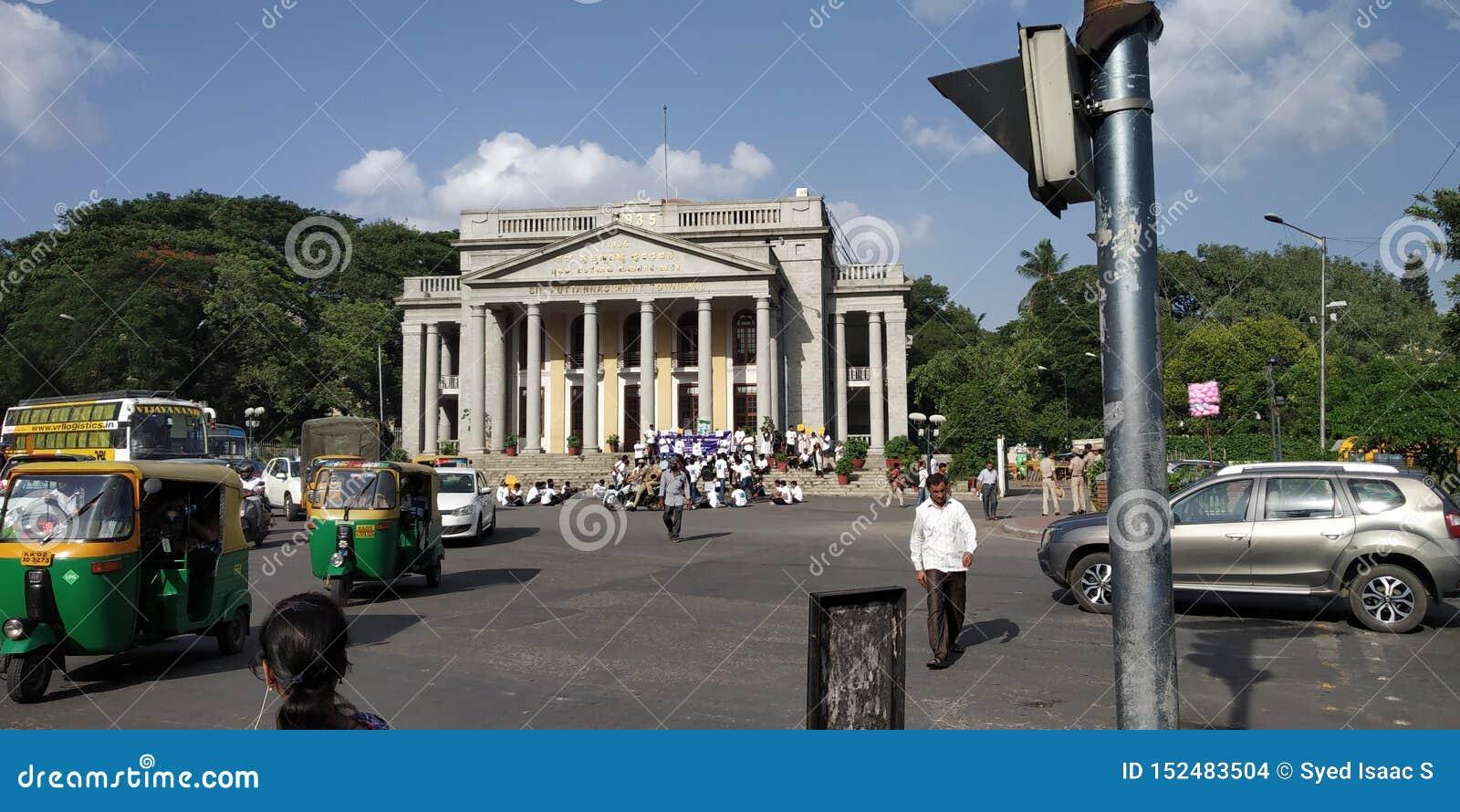 Круг ратуши Бангалора основной