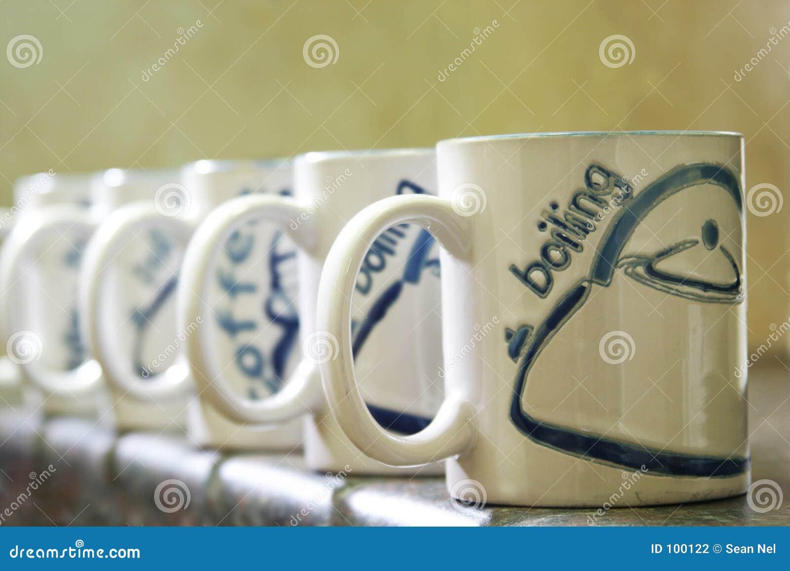 кружки кофе
