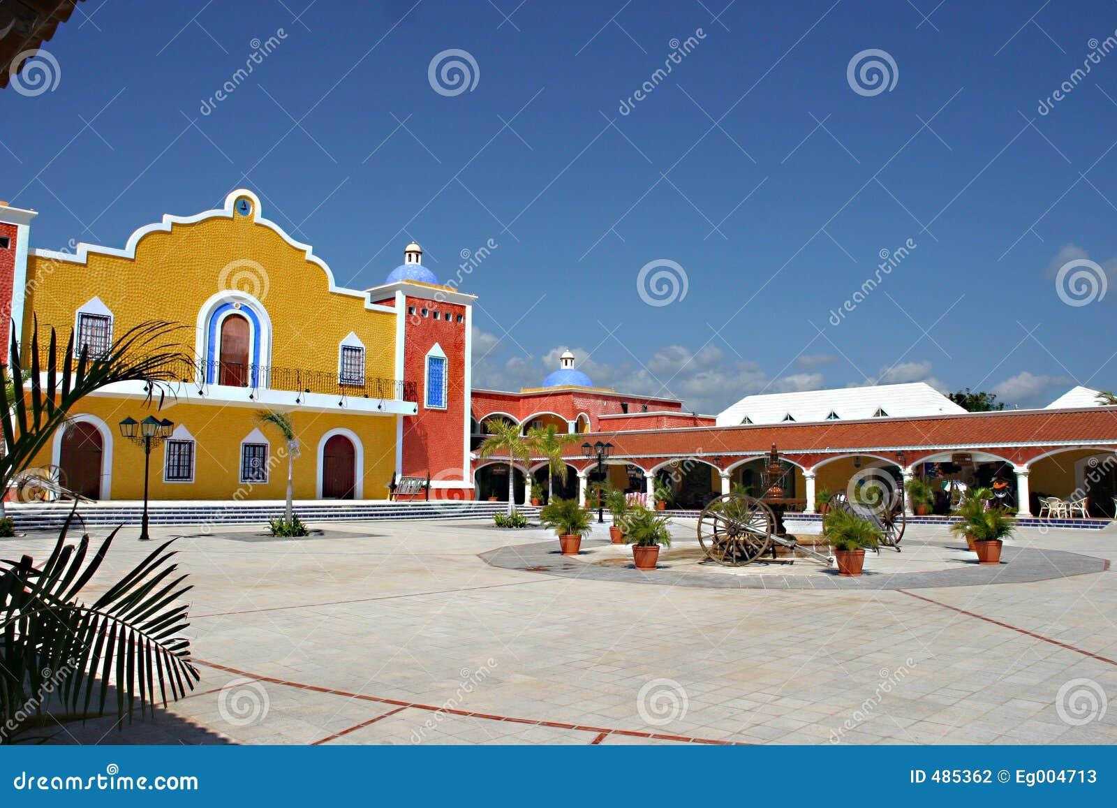 крупное поместье мексиканское