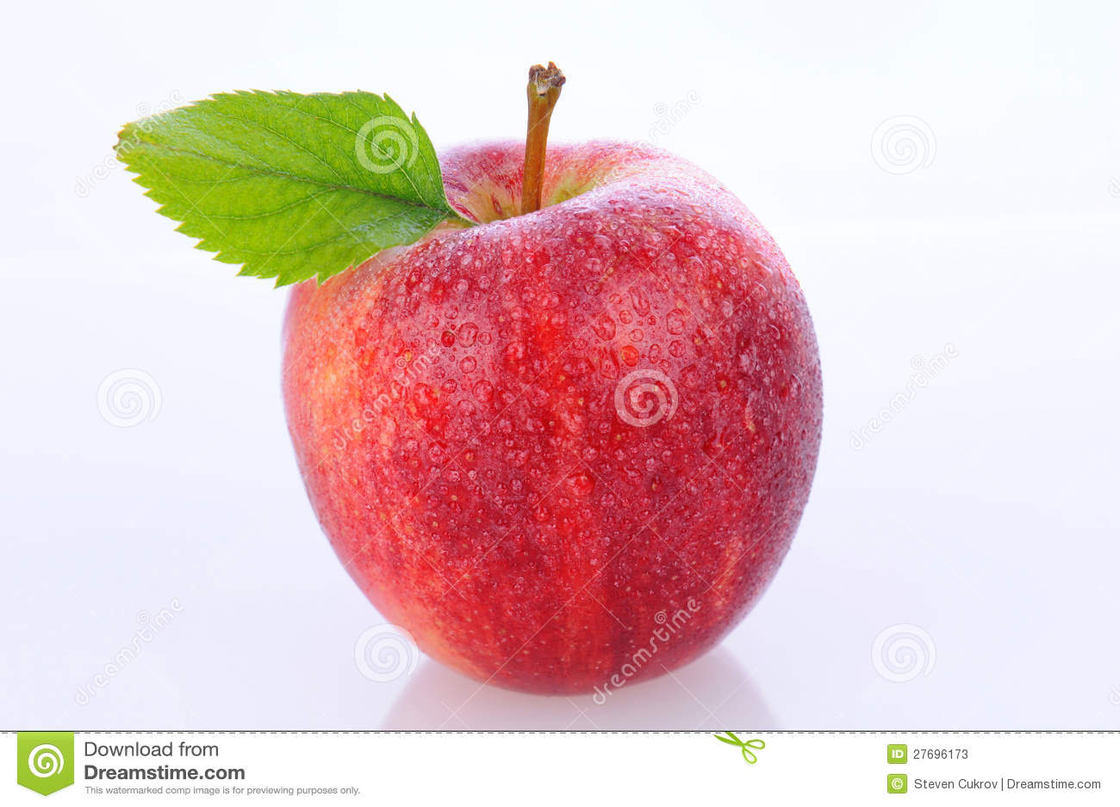 Крупный план торжественного Apple