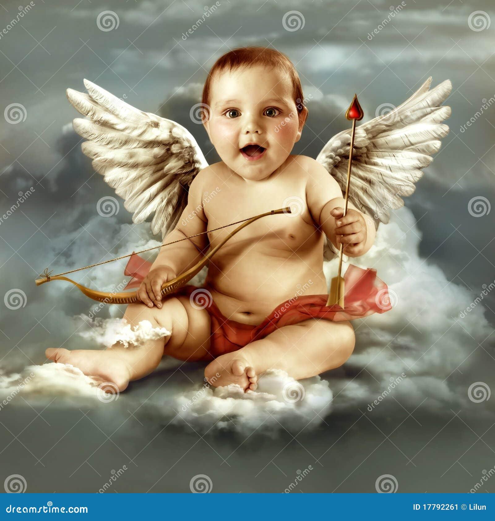 крыла купидона младенца ангела