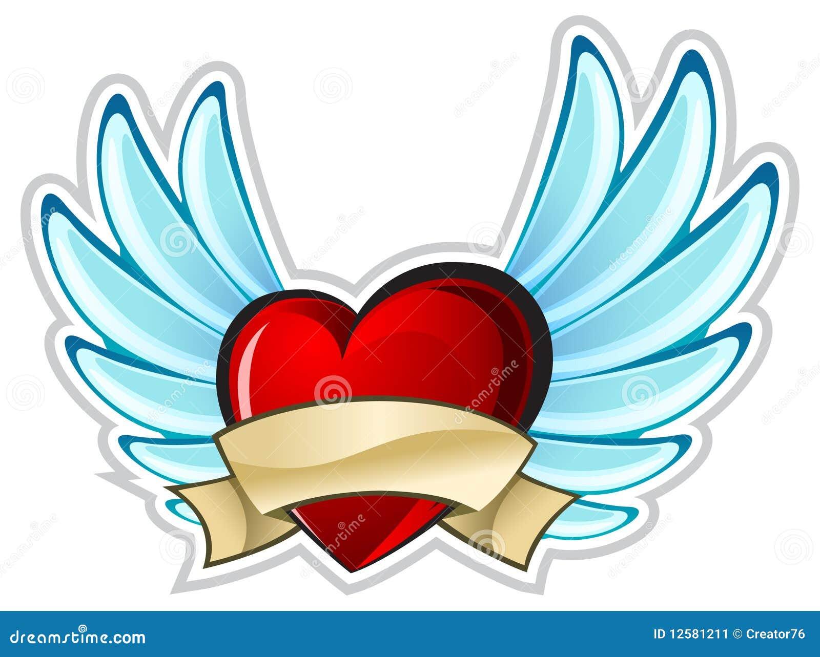 крыла сердца