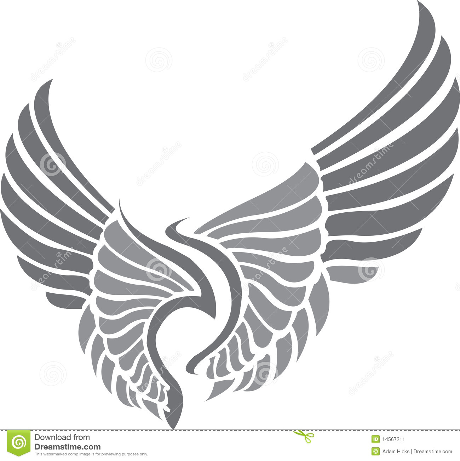 крыла tattoo
