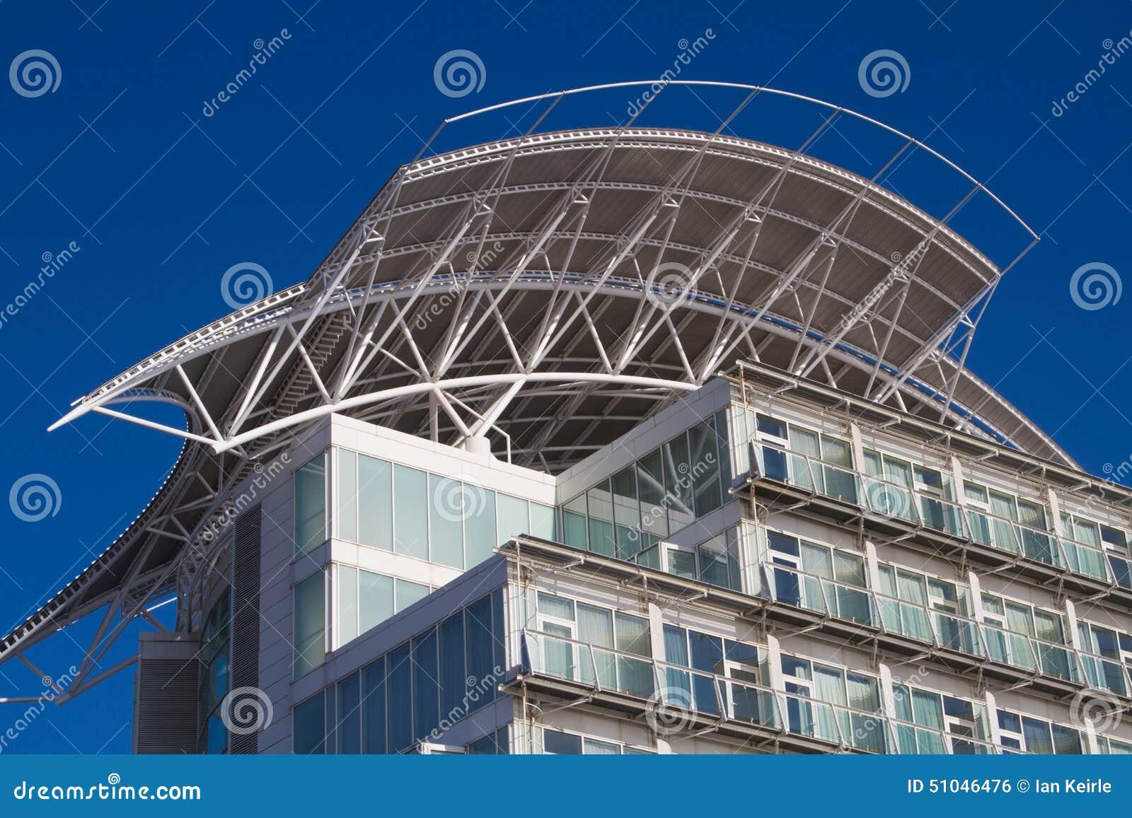 Крыша гостиницы