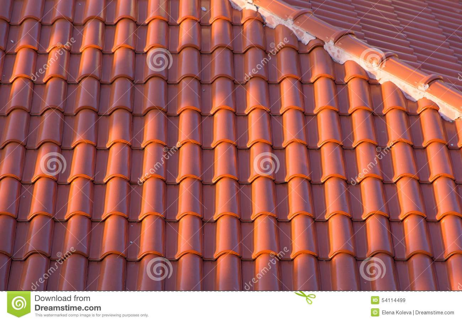 Крыша керамической плитки