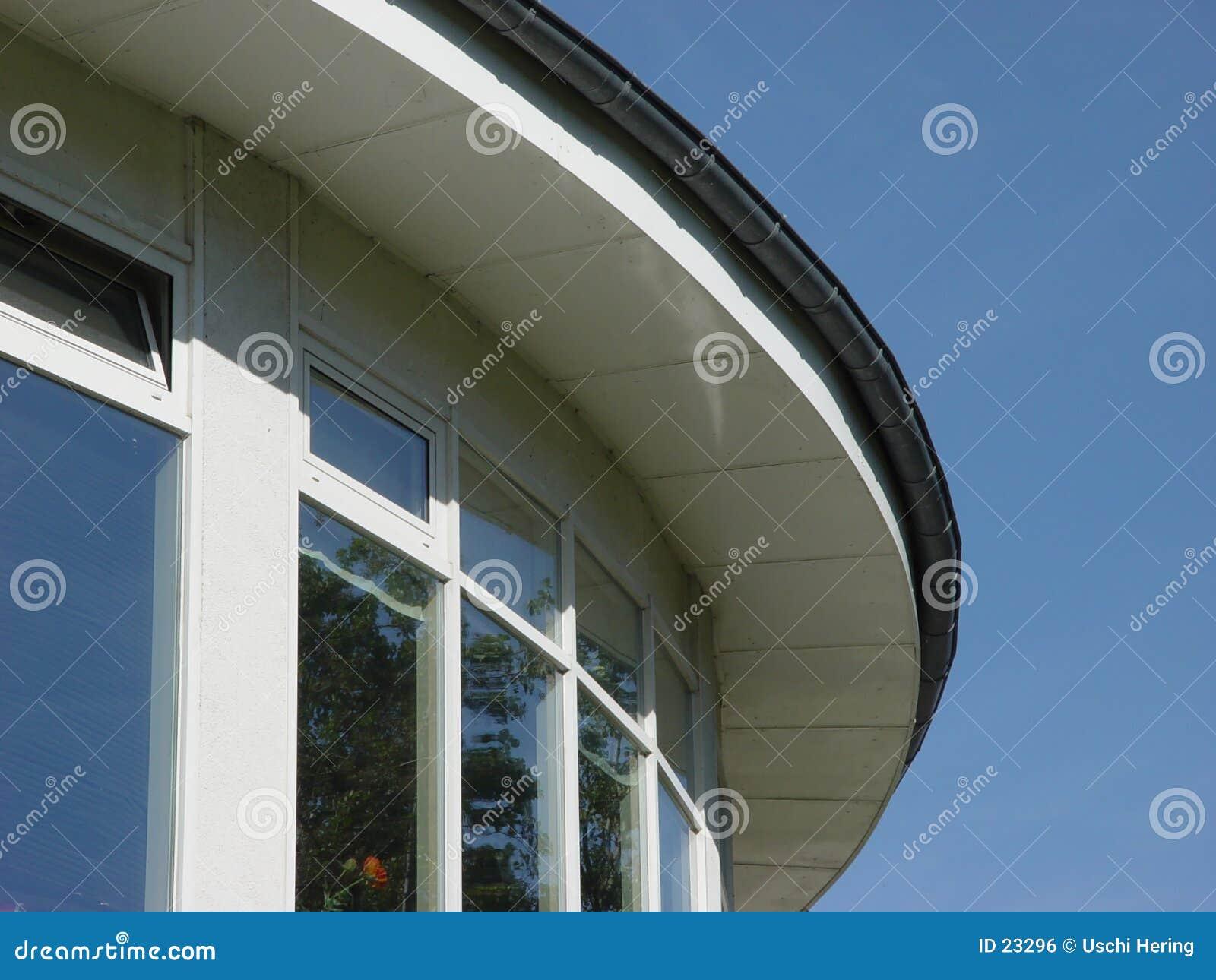 крыша круглая