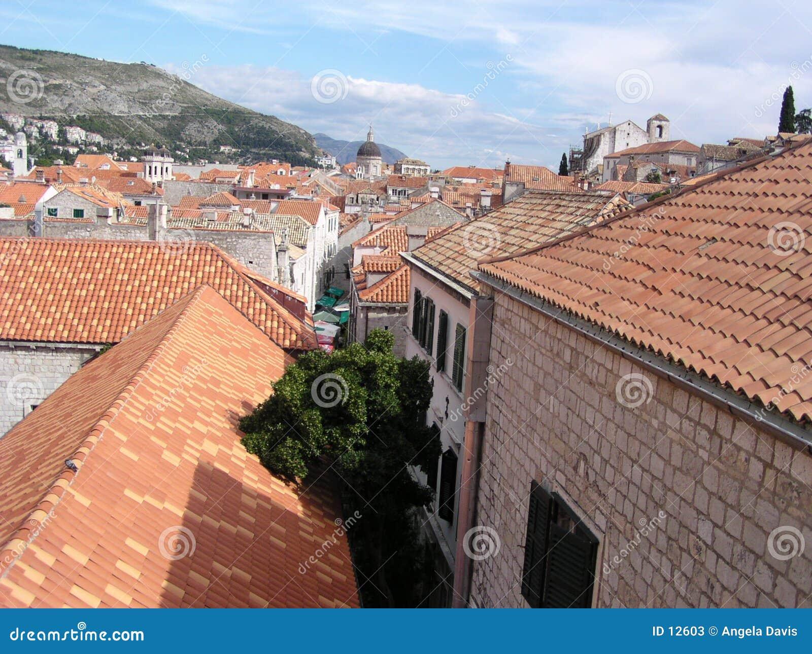 крыши dubrovnik
