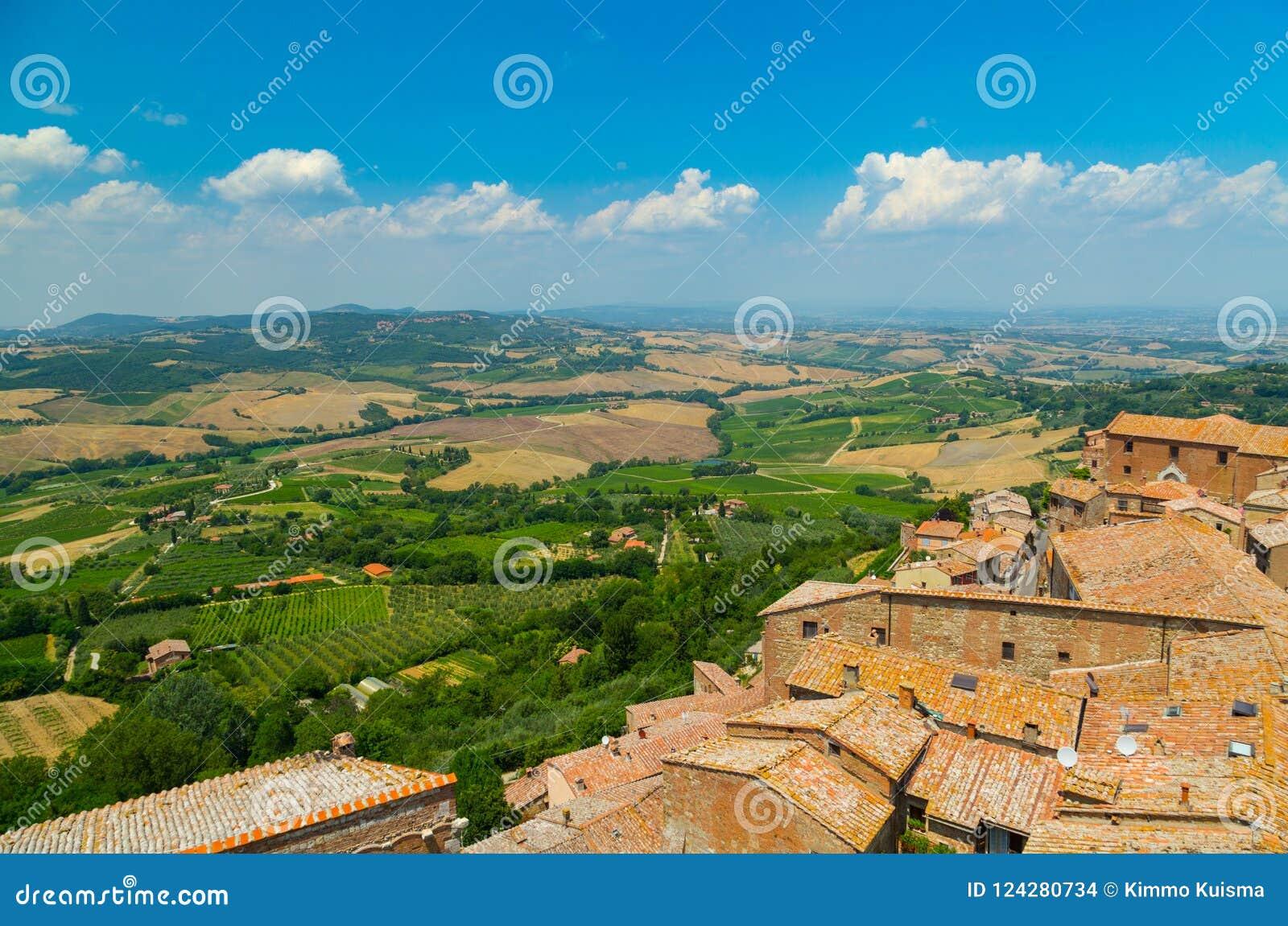 Крыши Montepulciano