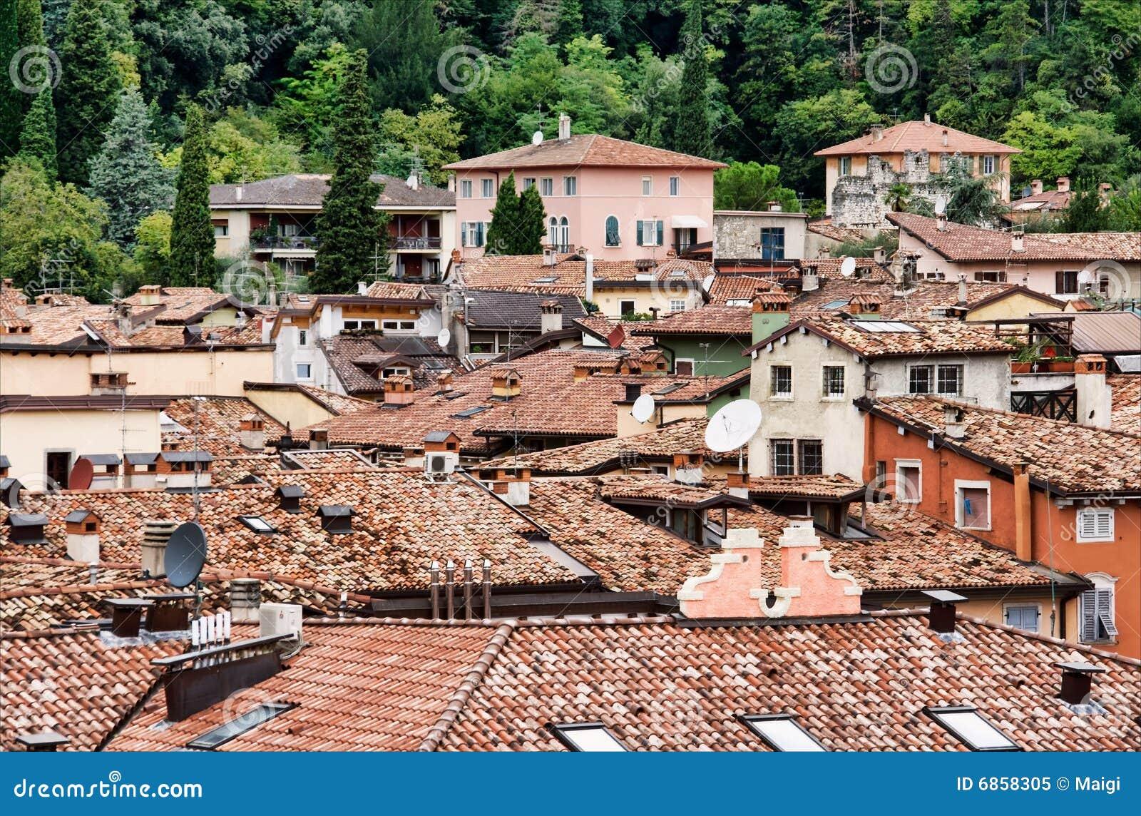 крыши riva del garda