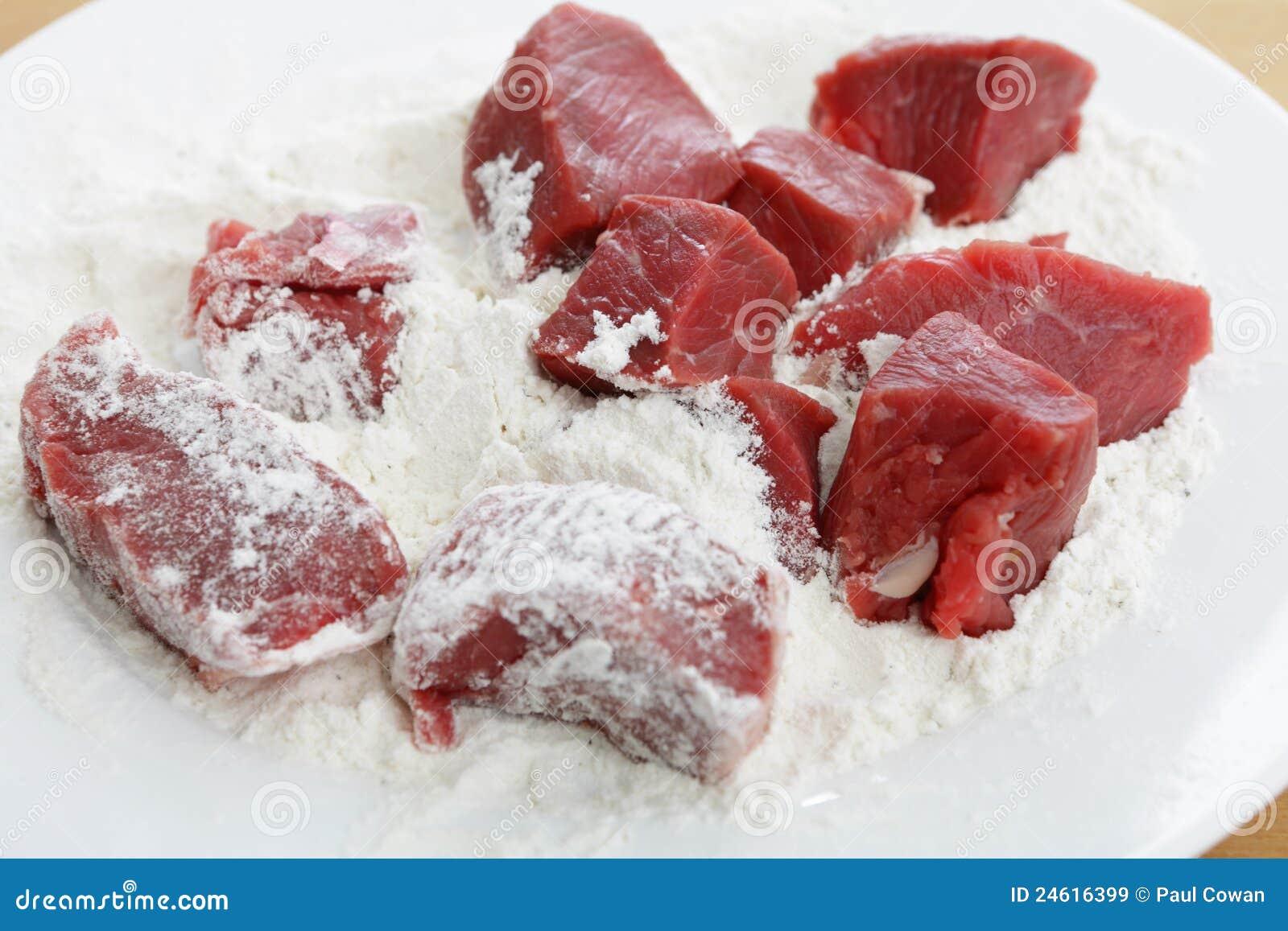 кубики ся мясо
