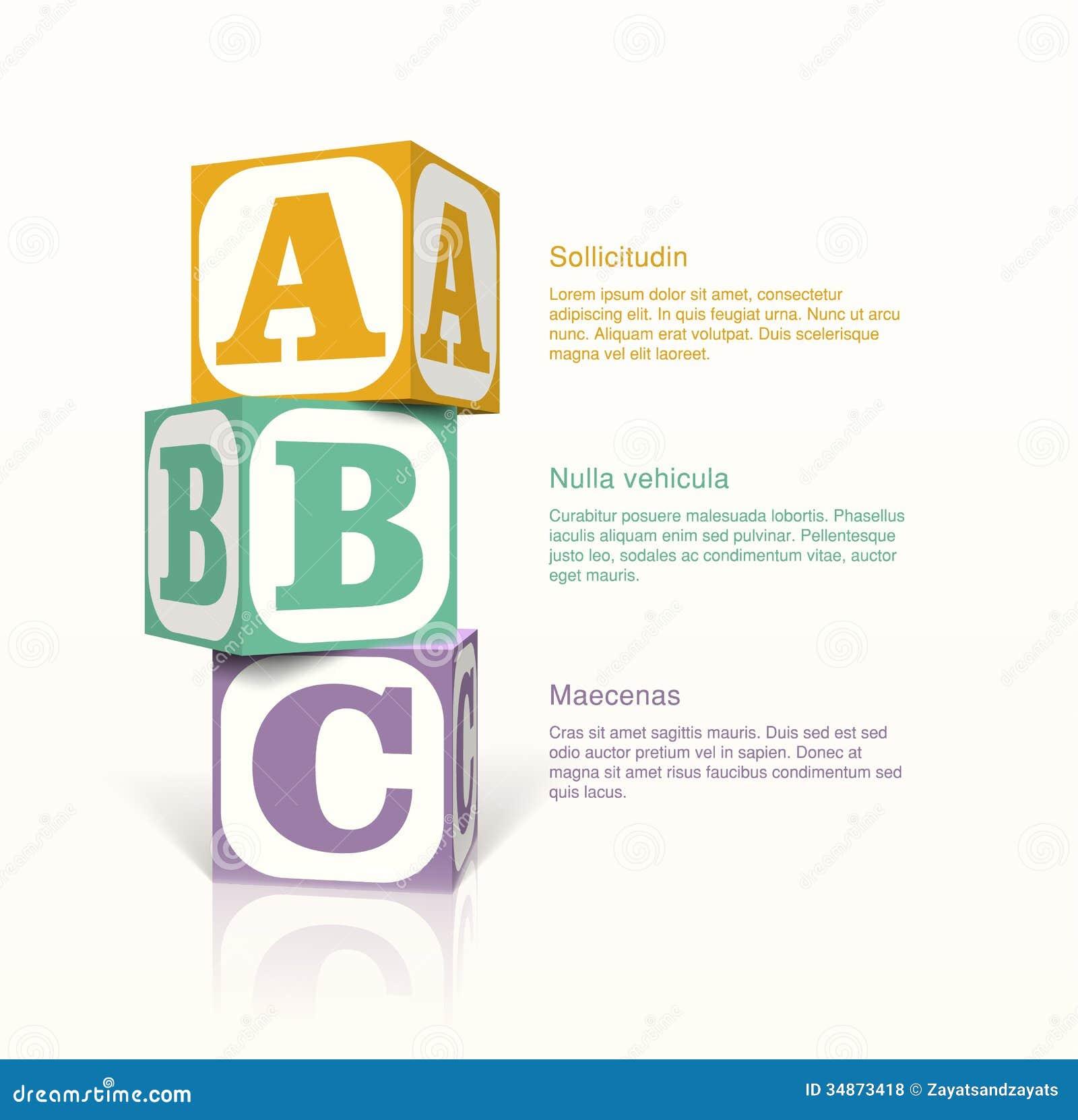 Кубы с lettern