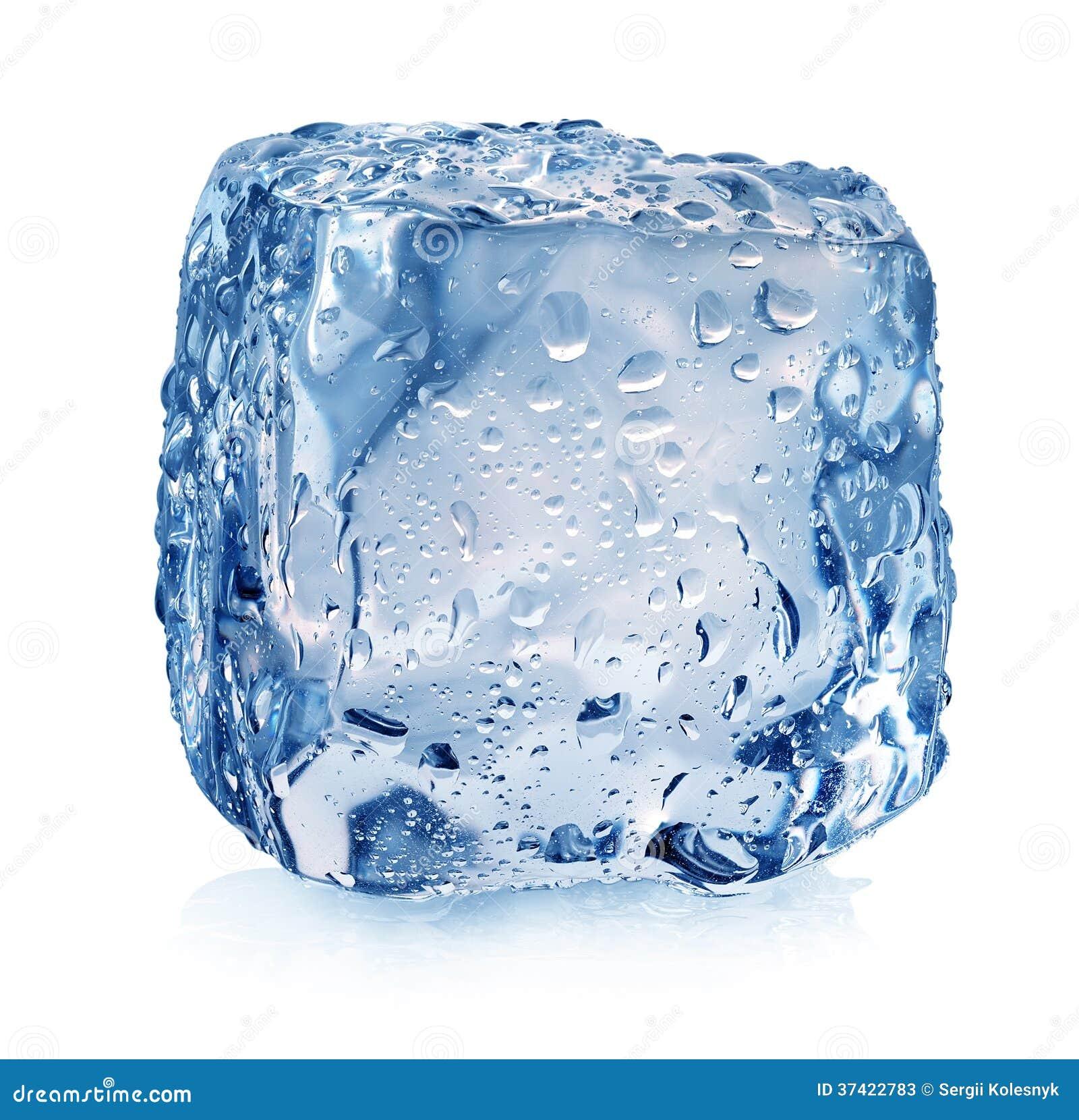 Куб льда с падениями