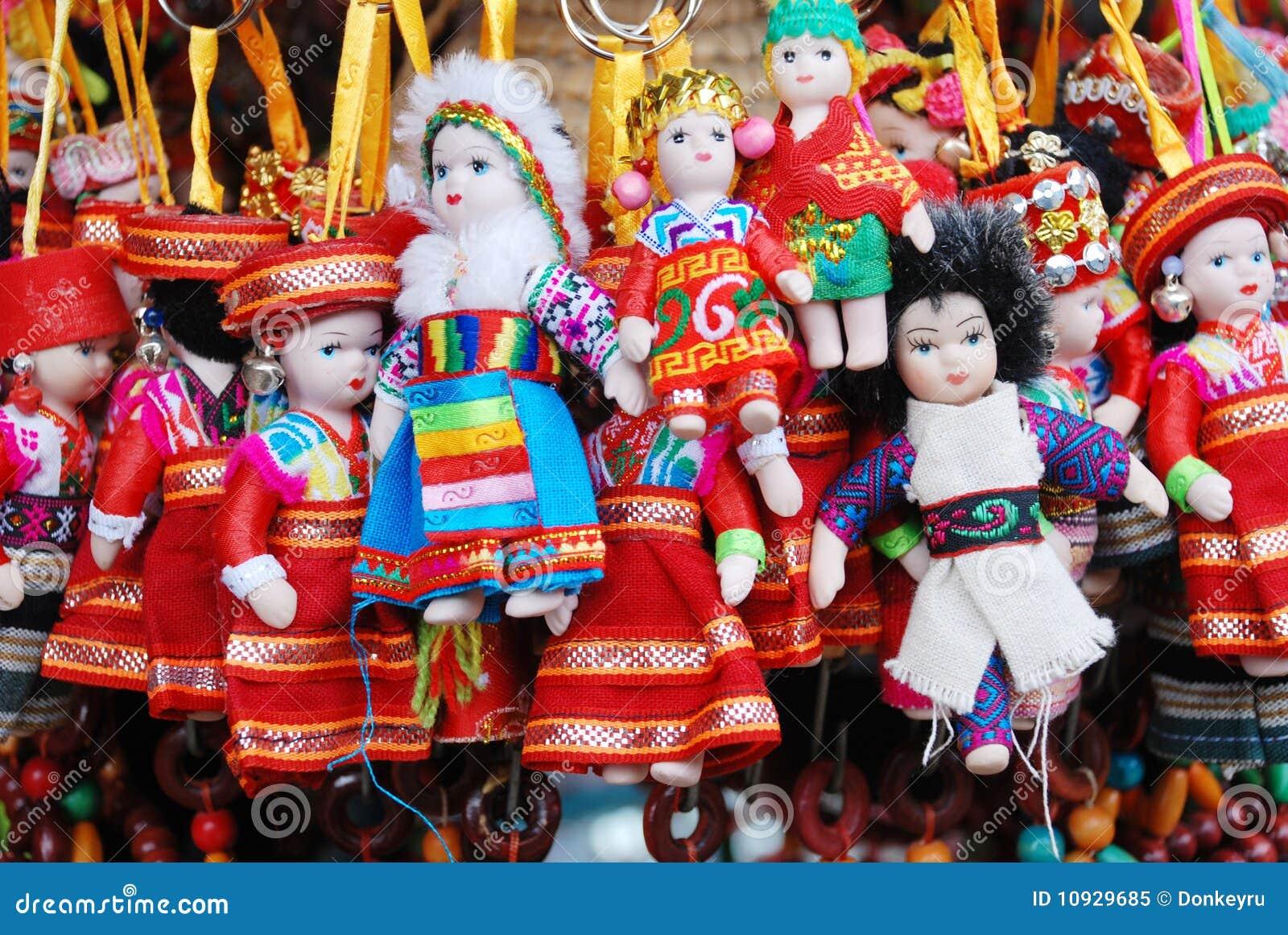 куклы тибетские